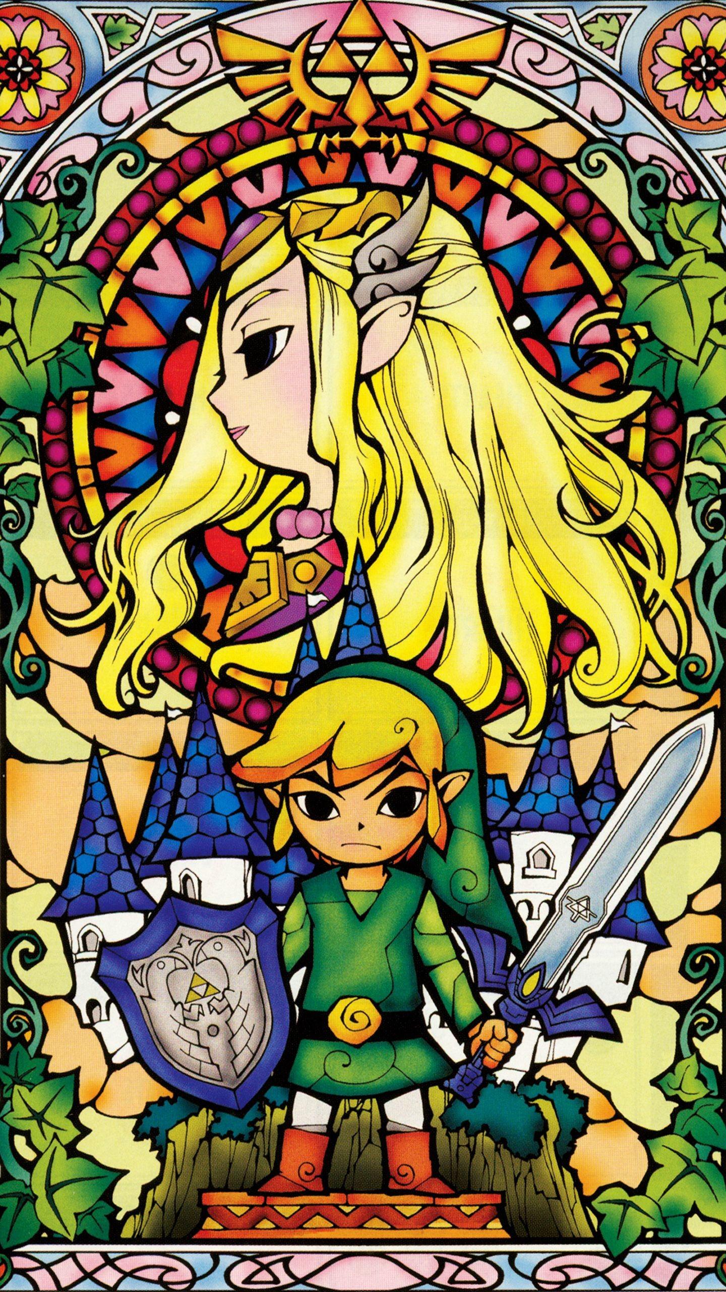 Res: 1440x2560, Triforce The Legend of Zelda HD desktop wallpaper High Free