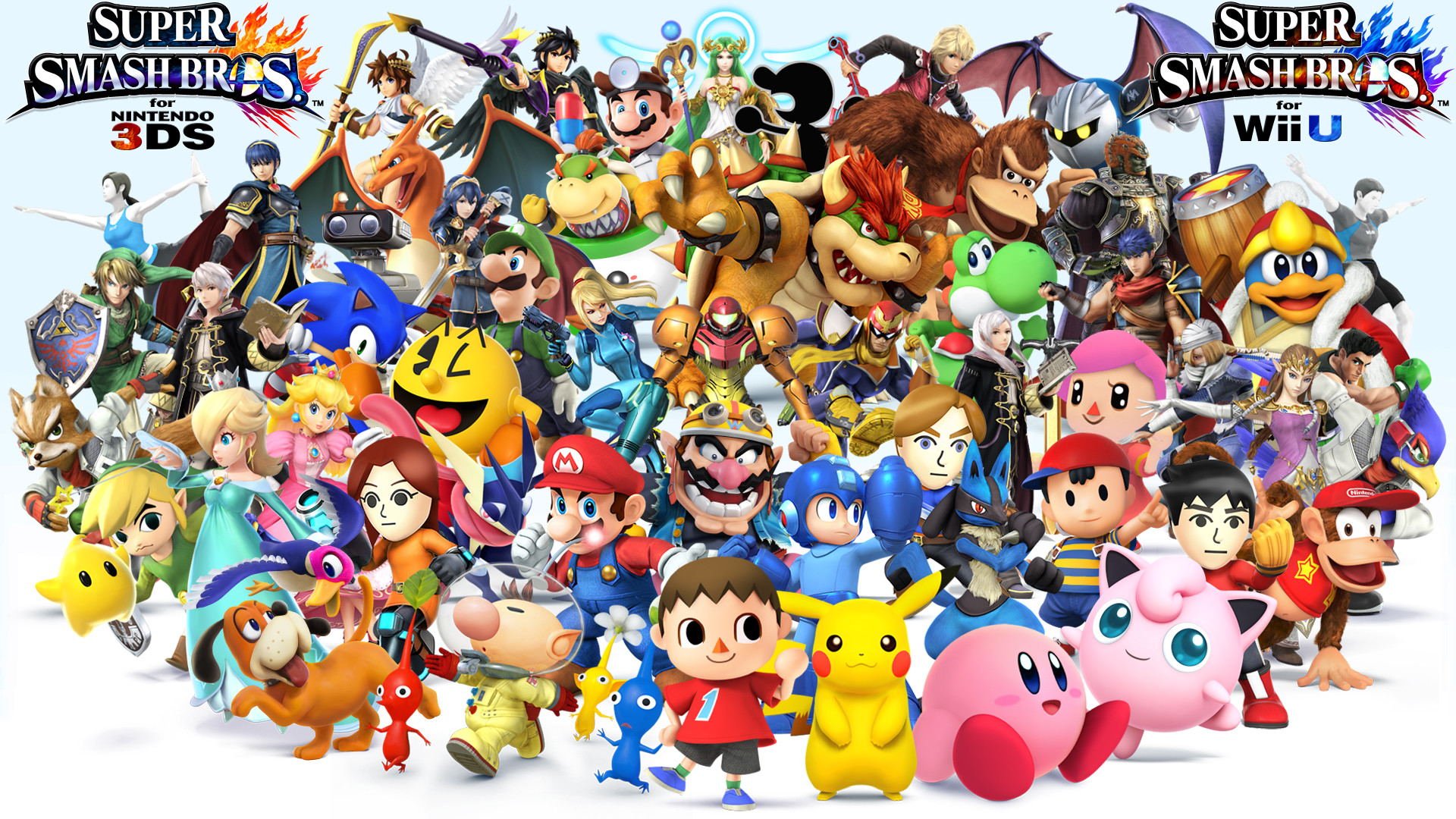 Res: 1920x1080, Ssb wallpaper all characters 1 important notes by thelimomon-d6m3ym4.png.jpg