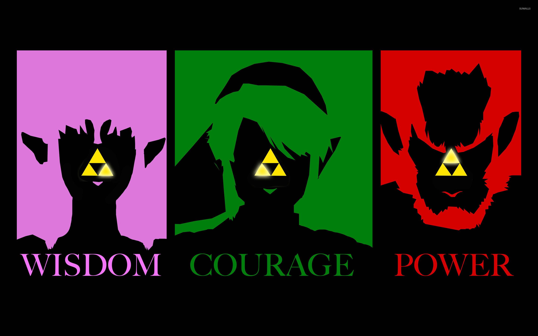 Res: 2880x1800, Triforce - The Legend of Zelda wallpaper