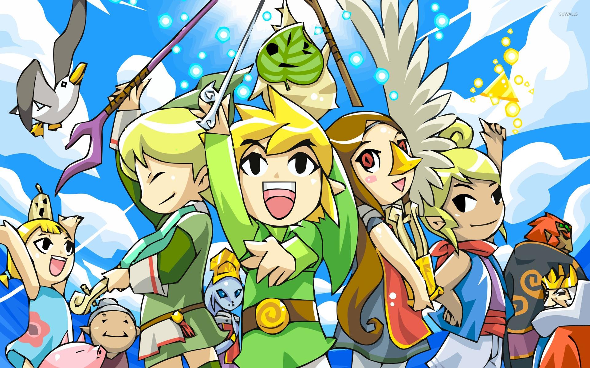 Res: 1920x1200, The Legend Of Zelda: A Link Between Worlds HD Wallpapers