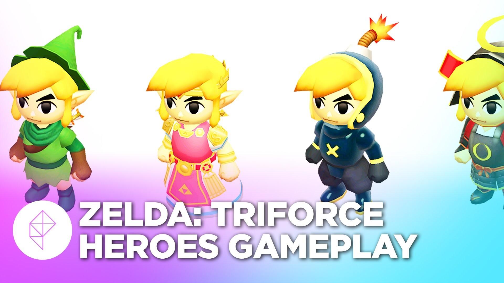 Res: 1920x1080, Zelda: Triforce Heroes Gameplay - Snowball Ravine