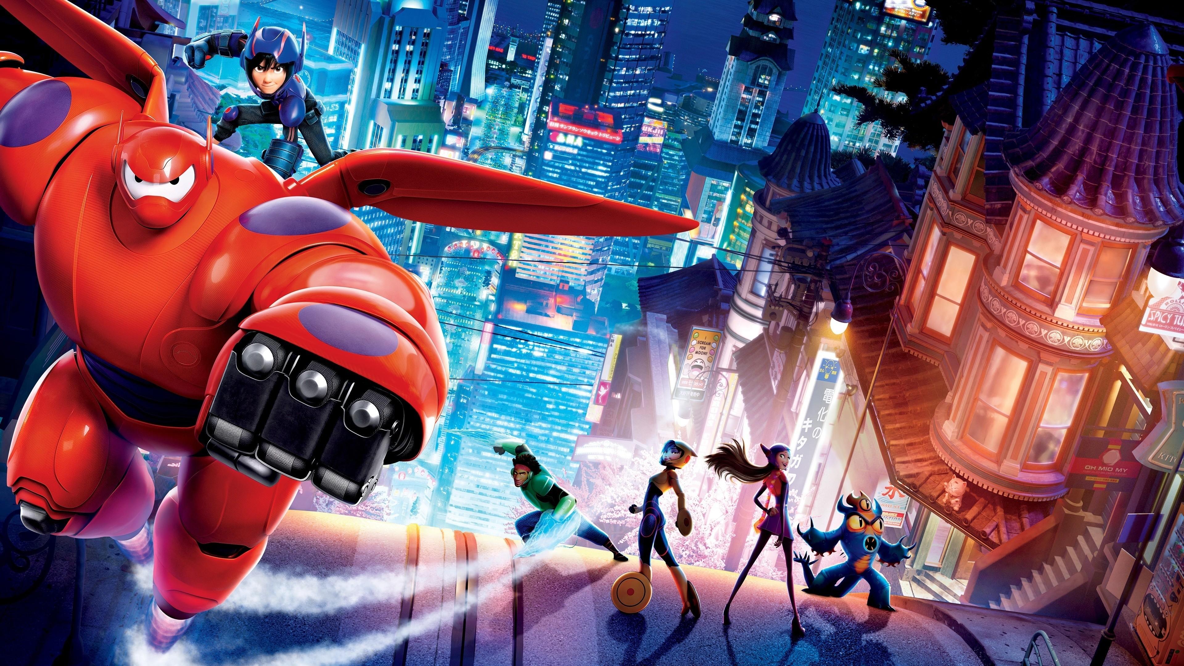 Res: 3840x2160,  HD Wallpaper | Background ID:605895.  Movie Big Hero 6
