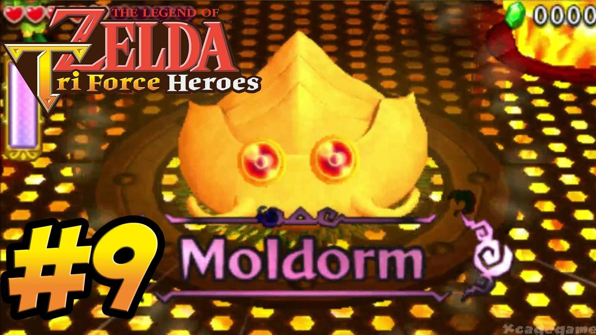 Res: 1920x1080, The Legend of Zelda Triforce Heroes - Gameplay Walkthrough Part 9 - Fire  Temple Boss [ 3DS ] - YouTube