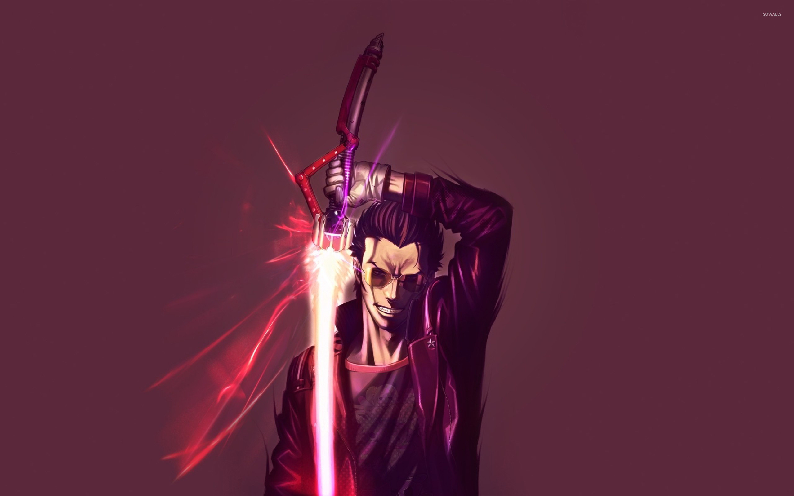 Res: 2560x1600, Travis Touchdown - No More Heroes wallpaper