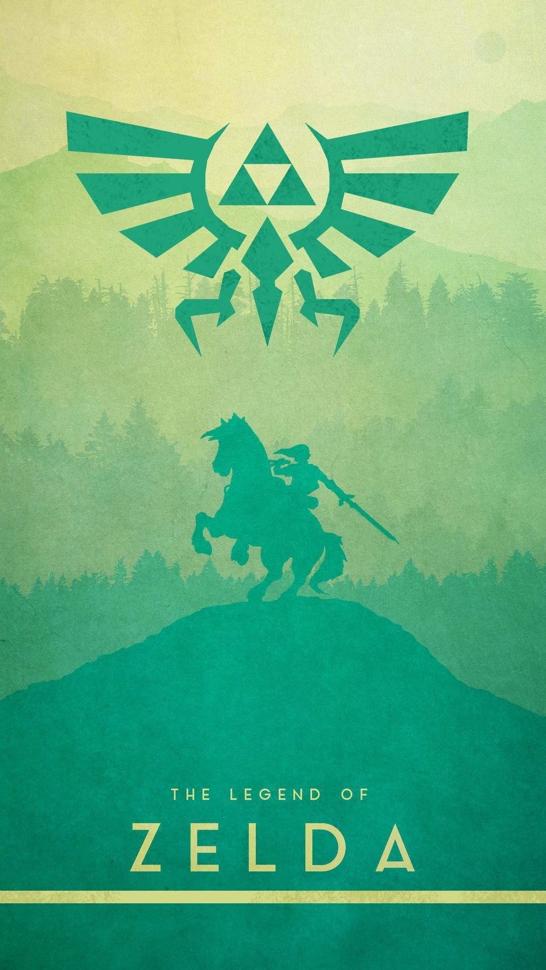Res: 1080x1920, The Legend of Zelda - Phone Wallpaper [] ...