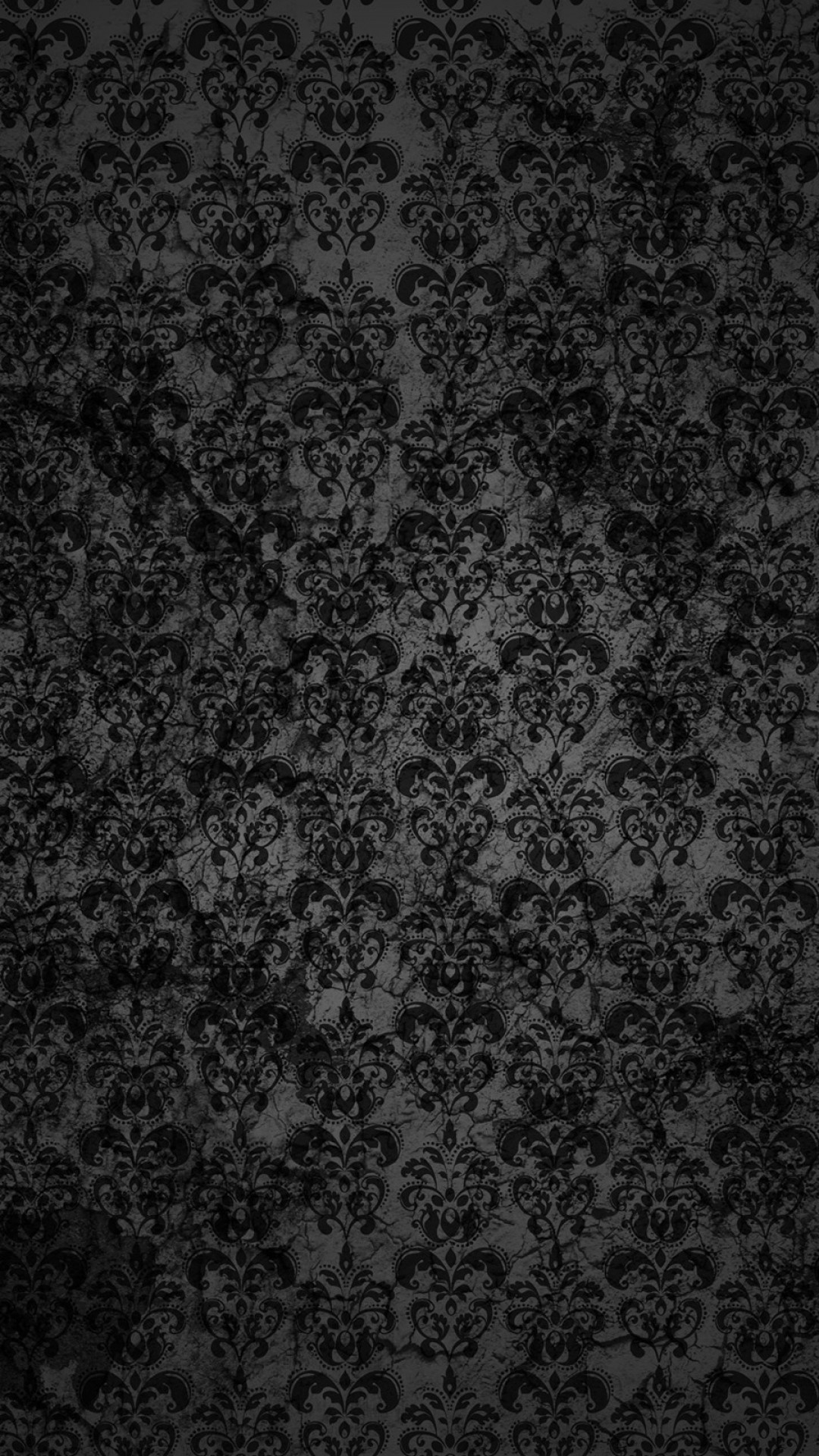 Res: 1080x1920, Black Lace Pattern Android Wallpaper ...