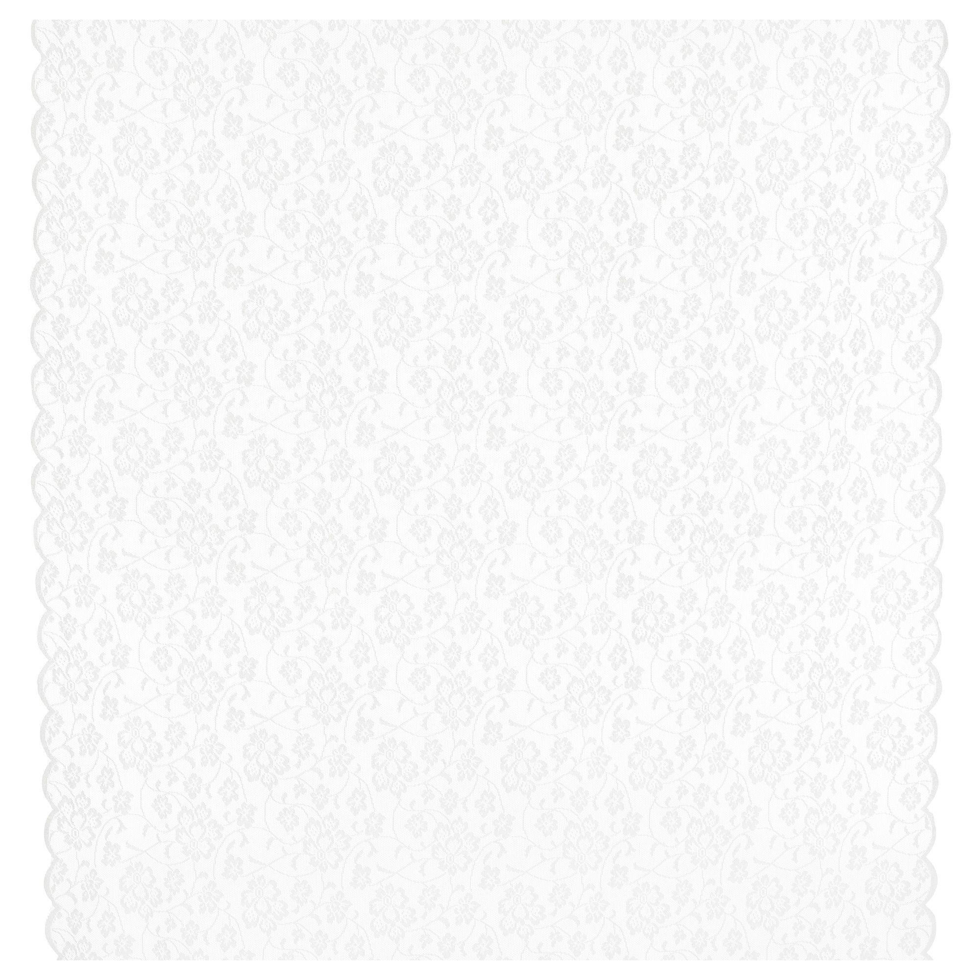 Res: 2000x2000, GULLDIS Fabric - IKEA, $3/yard...white lace