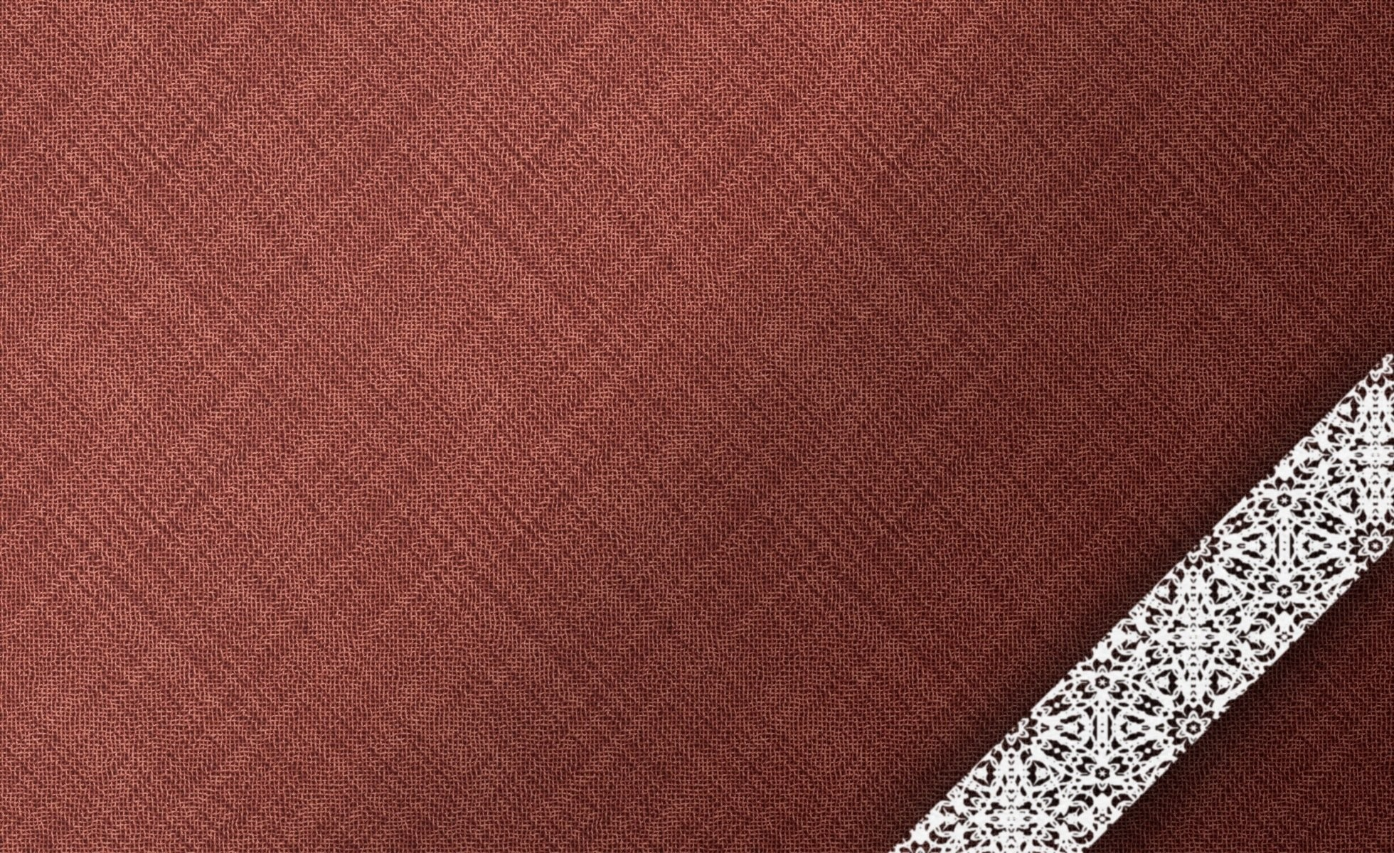 Res: 1960x1200, textures background cloth burgundy brown white lace