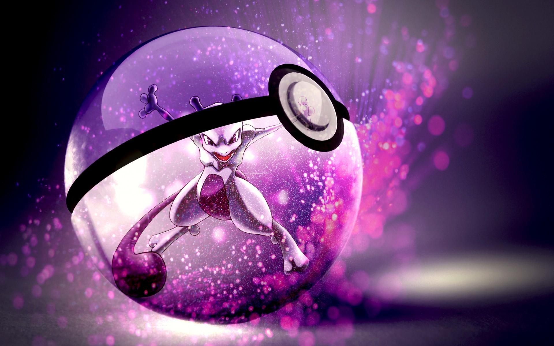 Res: 1920x1200, Pokemon mewtwo anime pokeball wallpaper |  | 40702 | WallpaperUP
