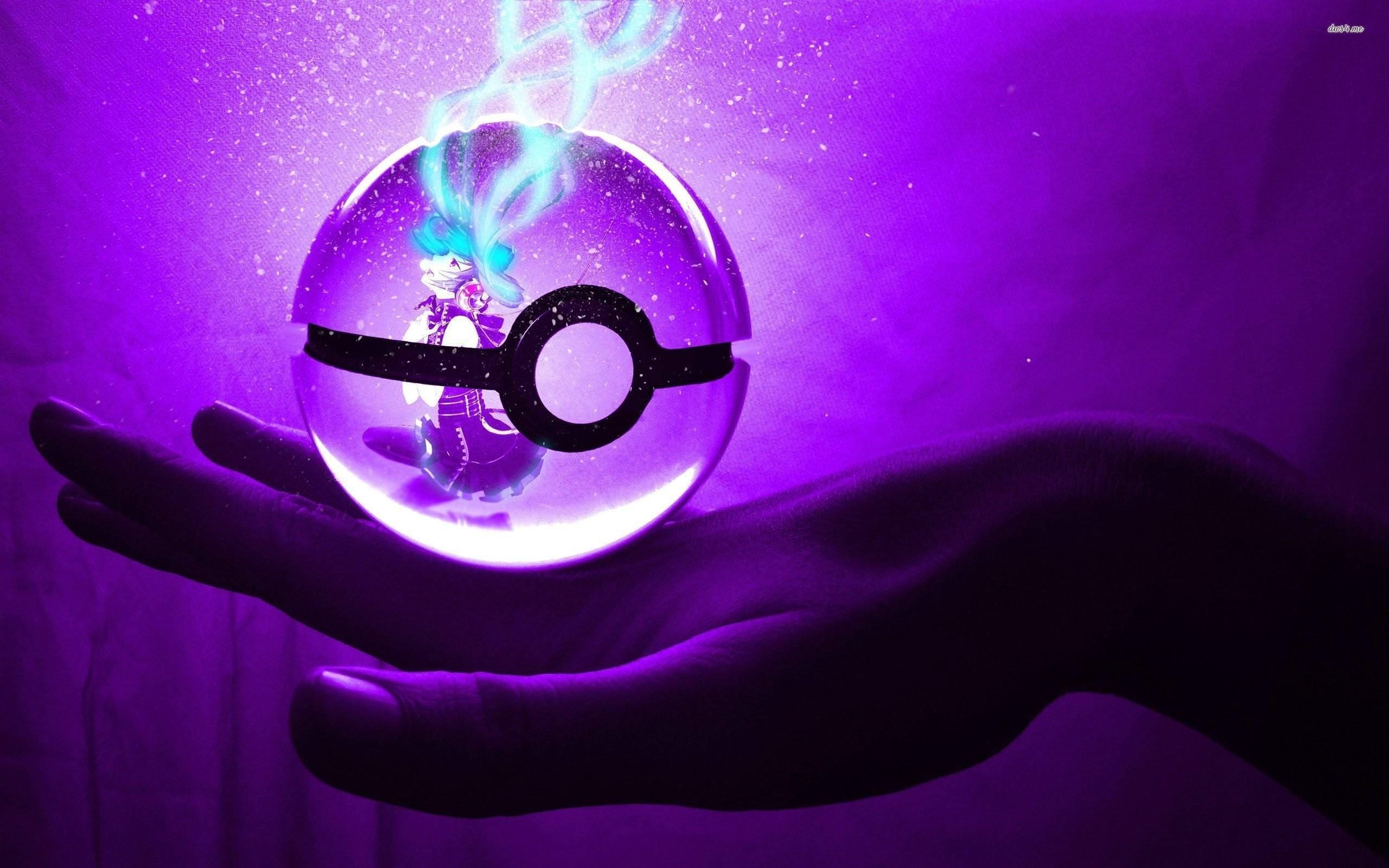 Res: 2560x1600, purple wallpaper pokemon