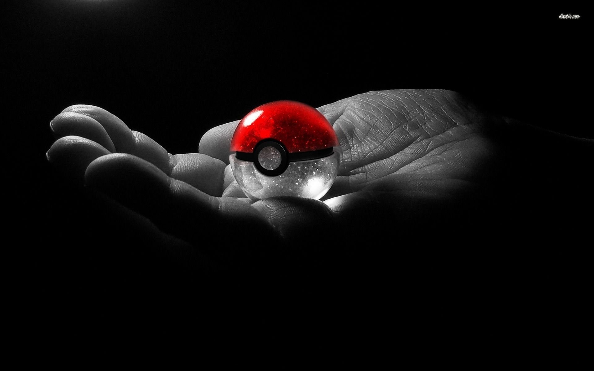 Res: 1920x1200, holding a pokeball