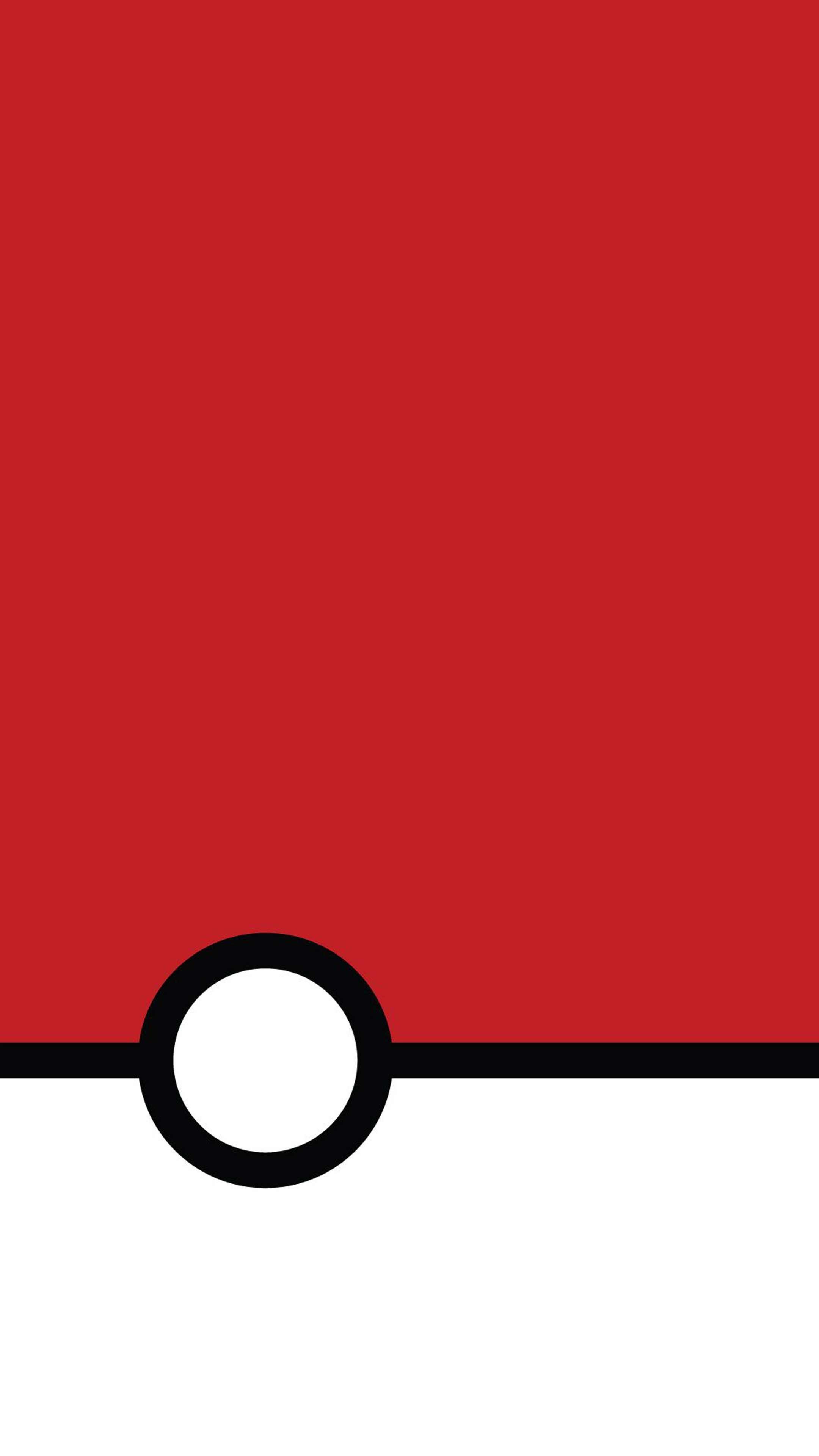 Res: 2160x3840, Pokemon Poke Ball Mobile Wallpaper. Mondrian Pokeball