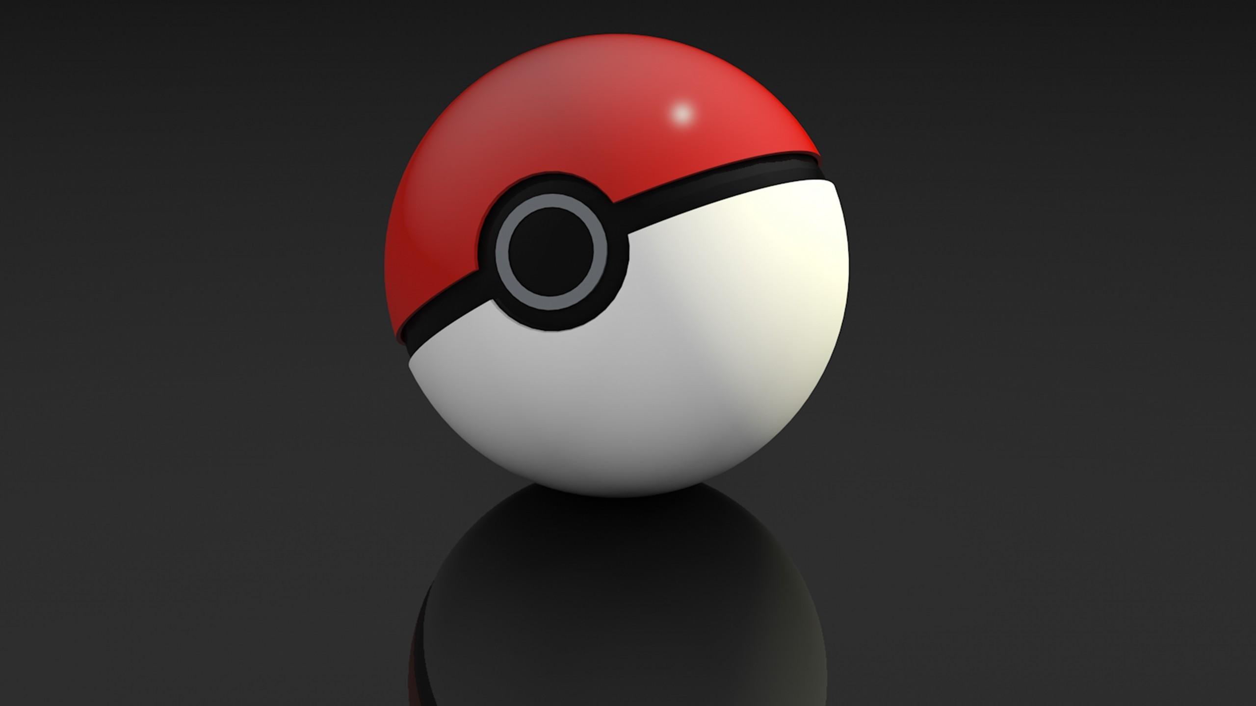 Res: 2560x1440, Pokemon, Pokeball