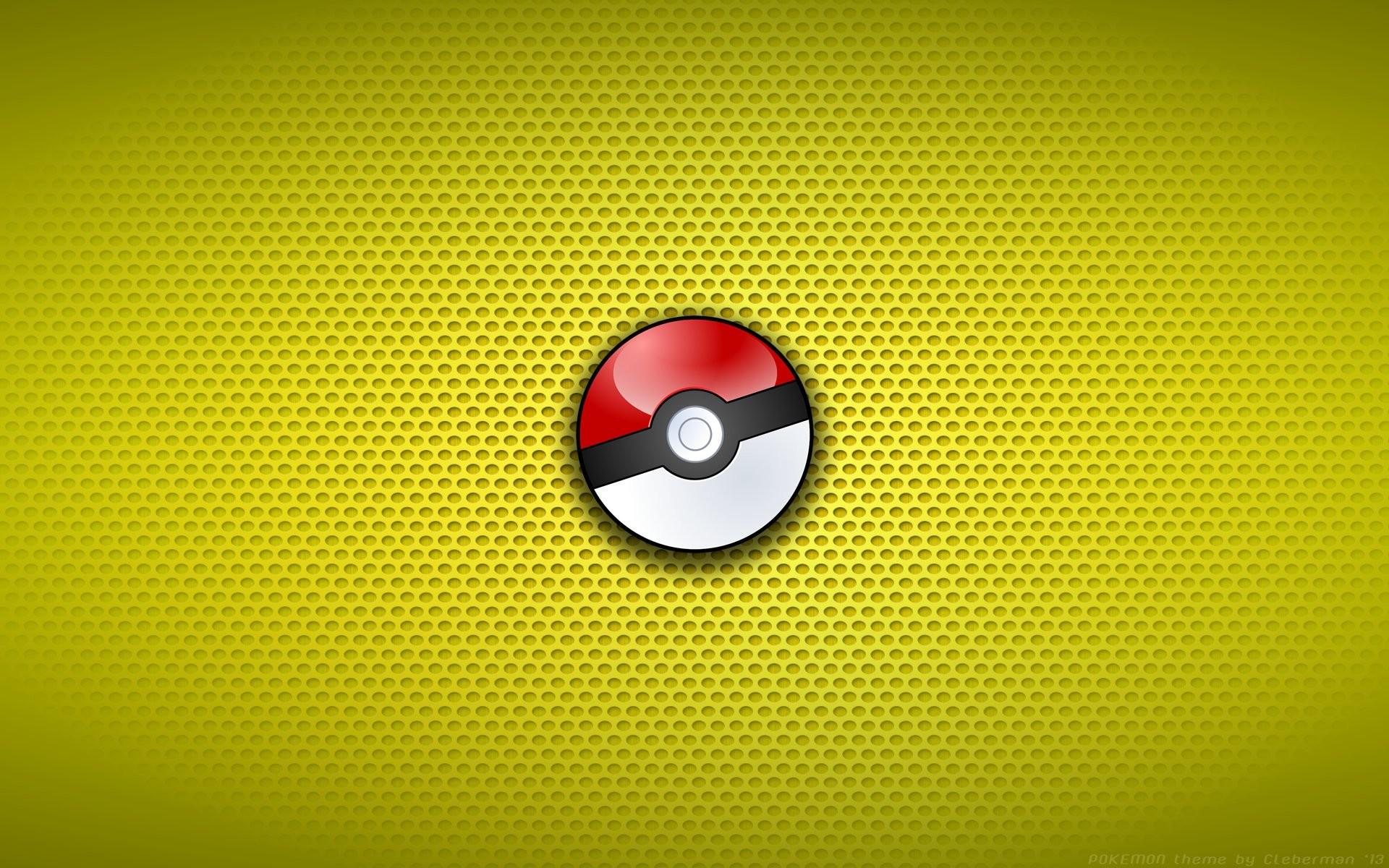 Res: 1920x1200, Computerspiele - Pokémon Pokeball Wallpaper