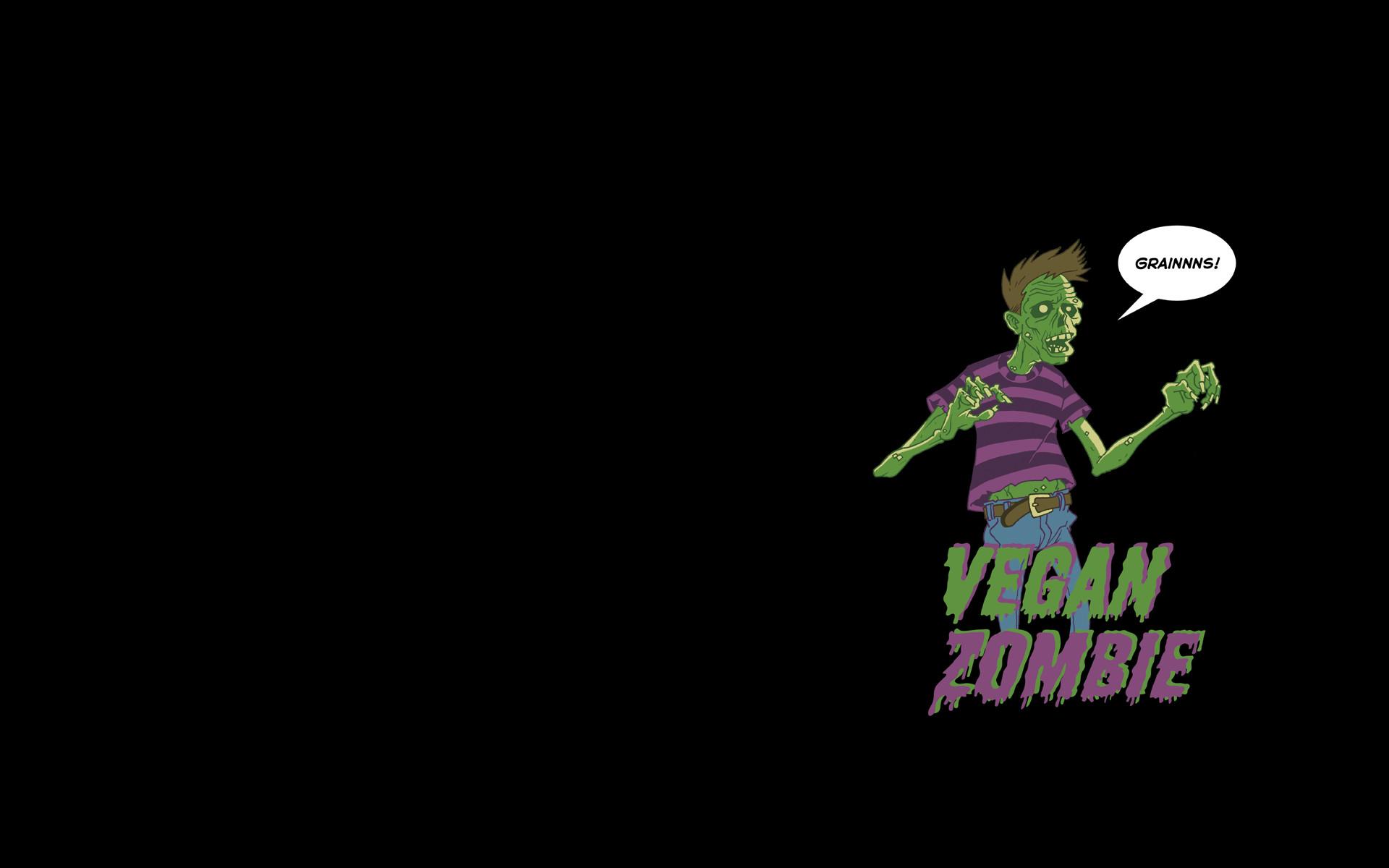 Res: 1920x1200, vegan zombie