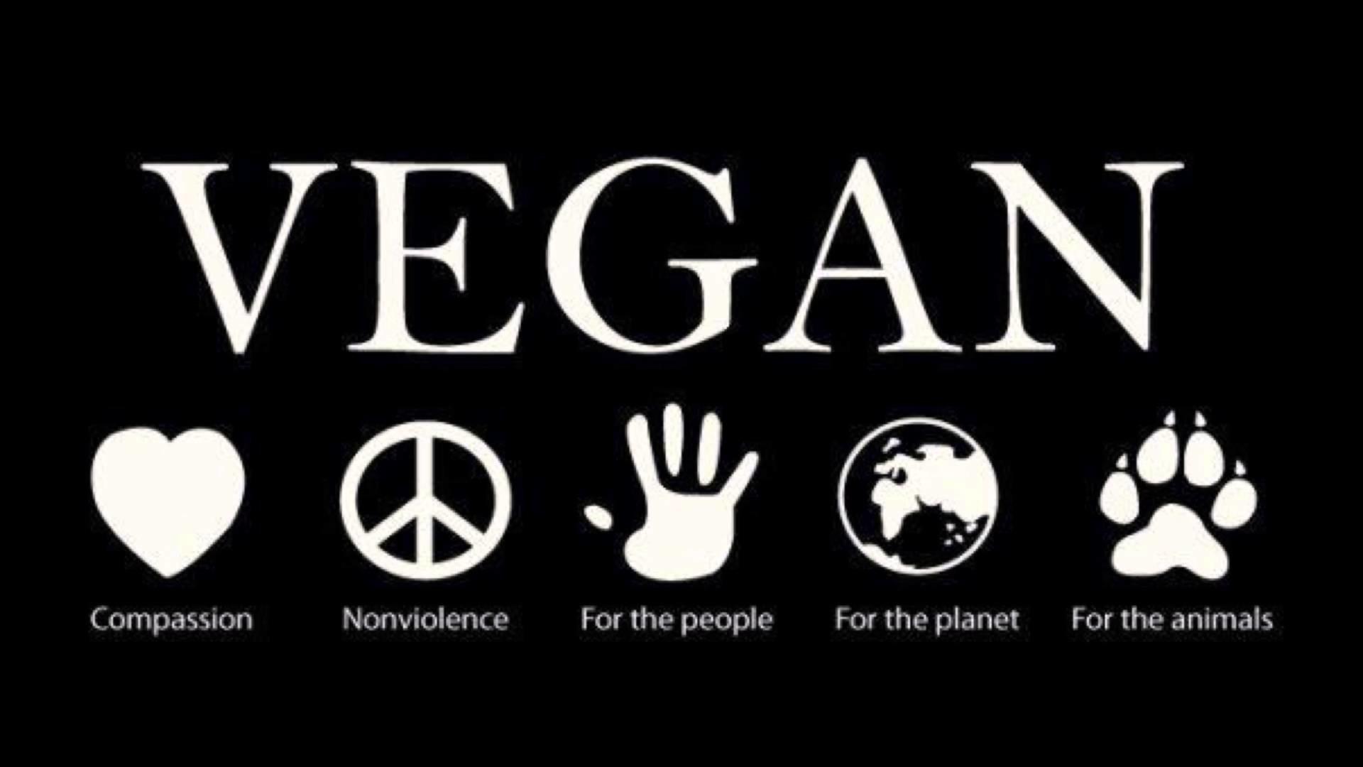 Res: 1920x1080, Go vegan!