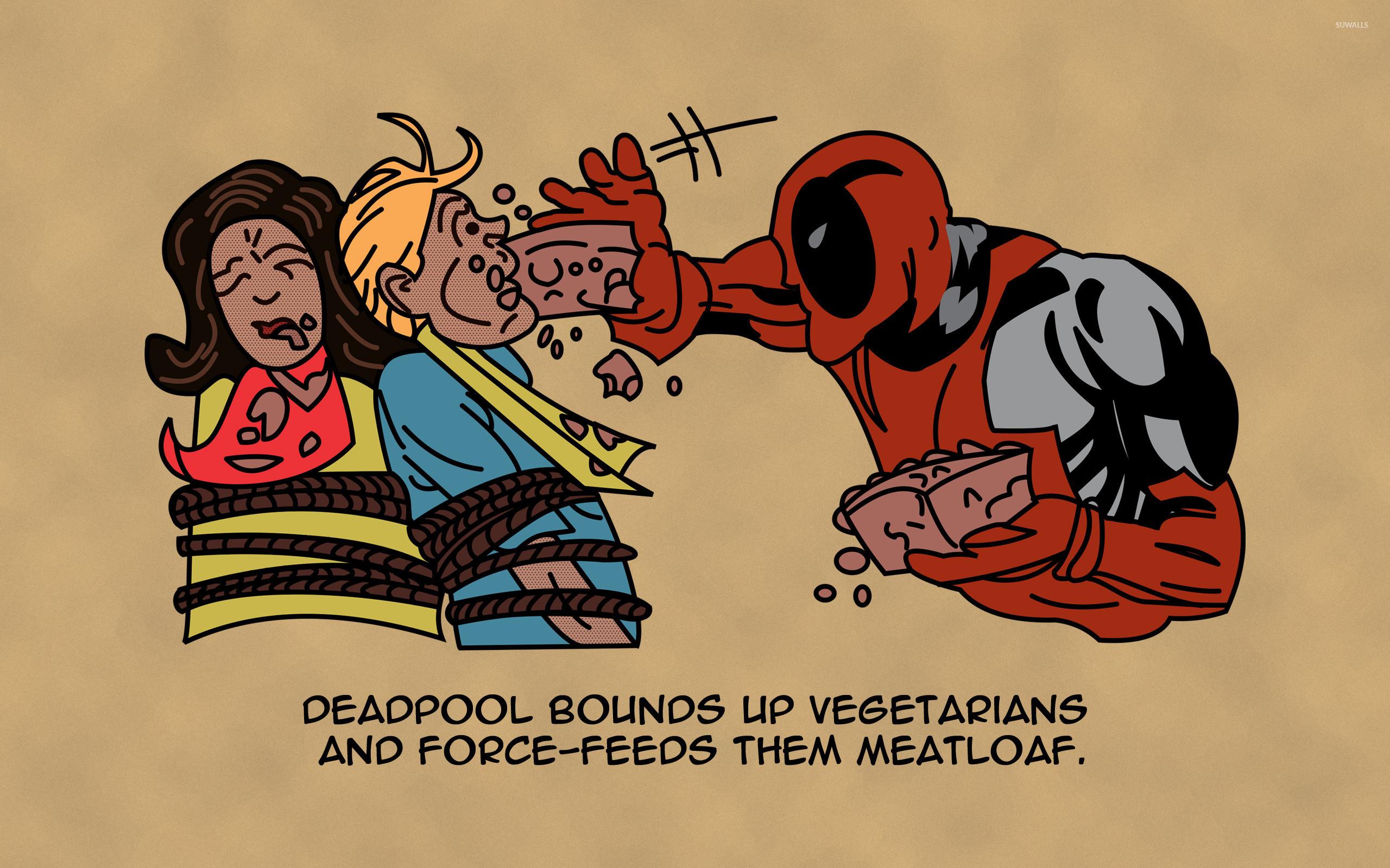 Res: 2560x1600, Deadpool [7] wallpaper