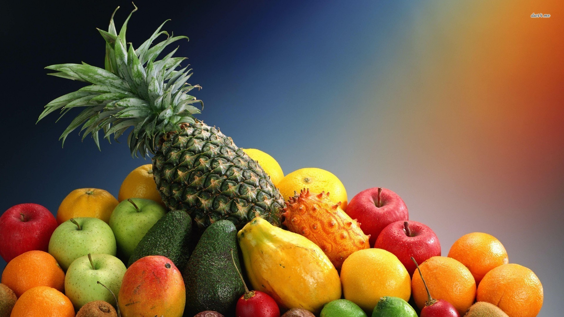 Res: 1920x1080, List Of Tropical Fruits Wallpaper