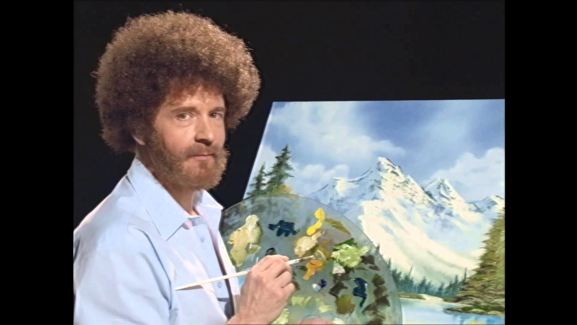 Res: 1920x1080, Bob Ross phenomenon
