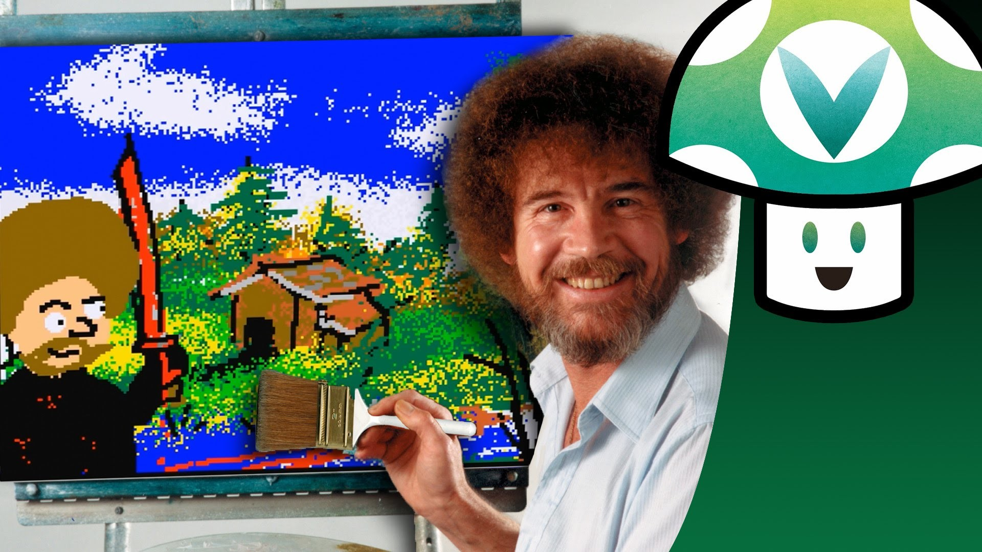 Res: 1920x1080,  > Bob Ross Wallpapers