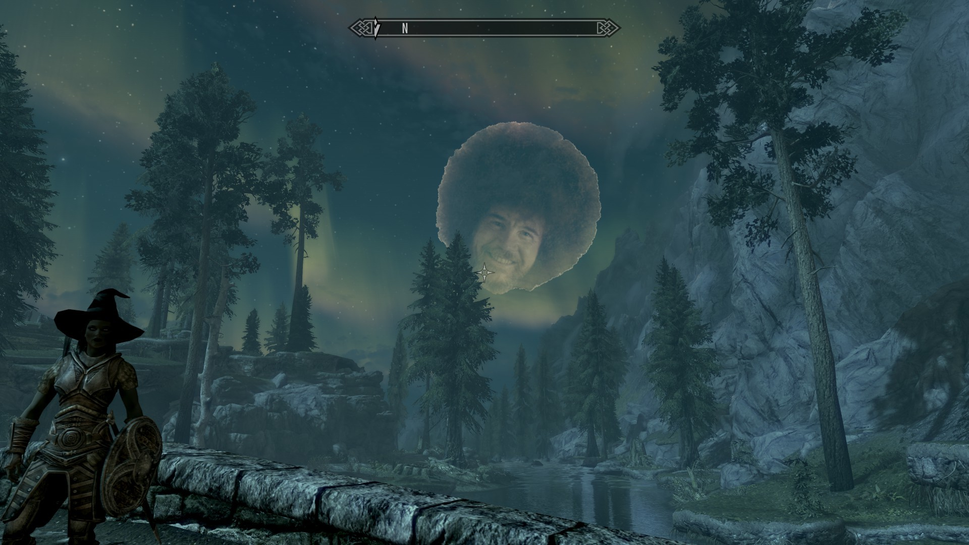 Res: 1920x1080, Bob Ross The Elder Scrolls V: Skyrim The Joy of Painting Best of the Joy