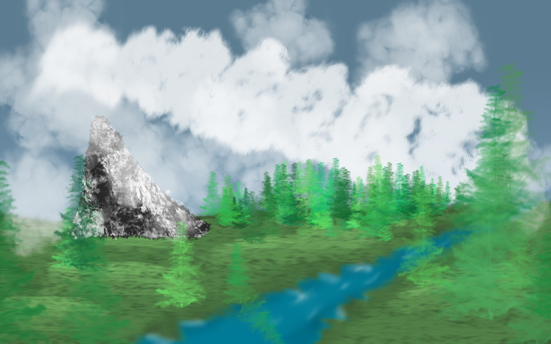 Res: 1920x1200, ... Bob Ross brush set! by bayleegirl1