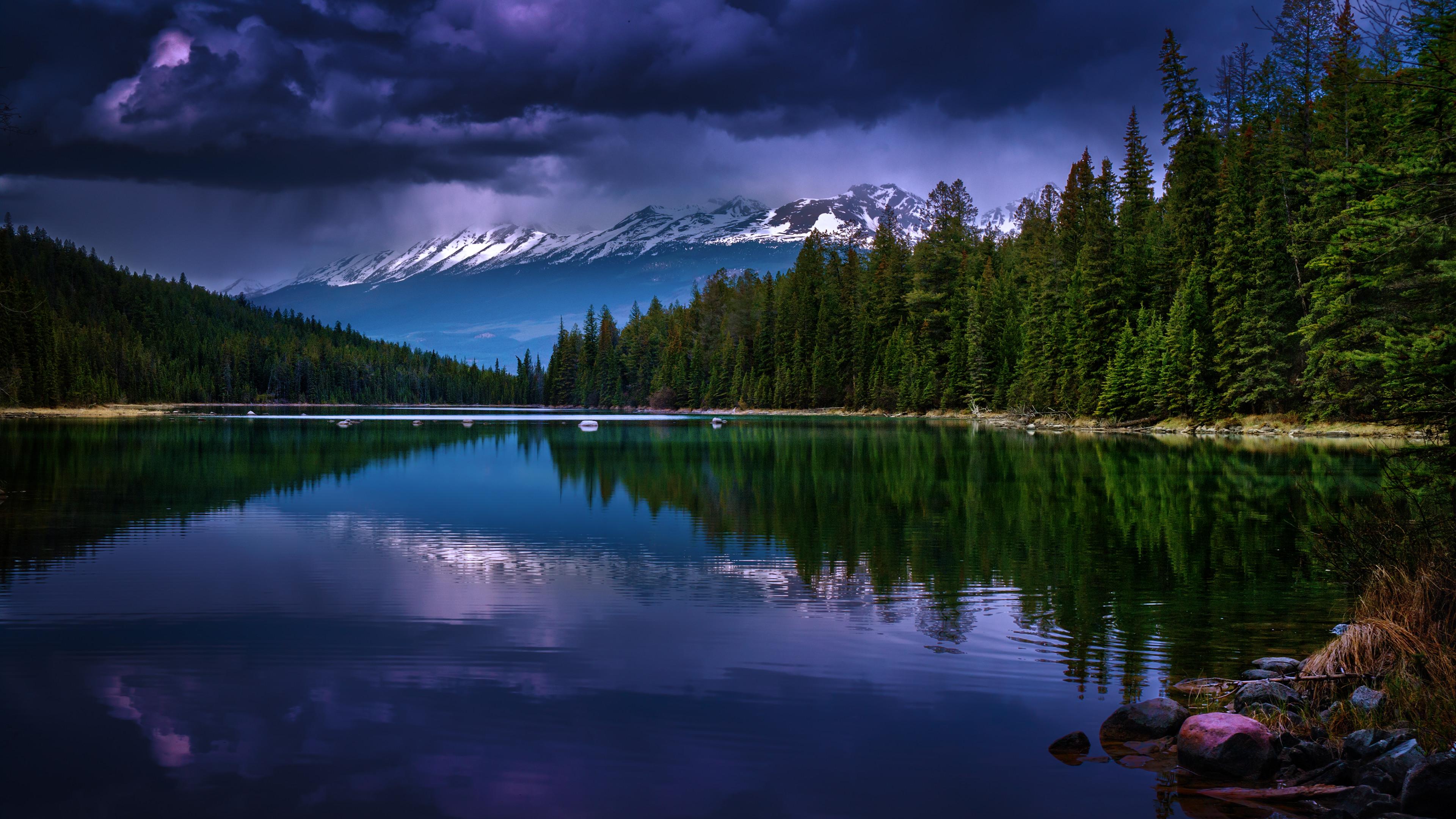 Res: 3840x2160, Earth - Reflection Mountain Wallpaper