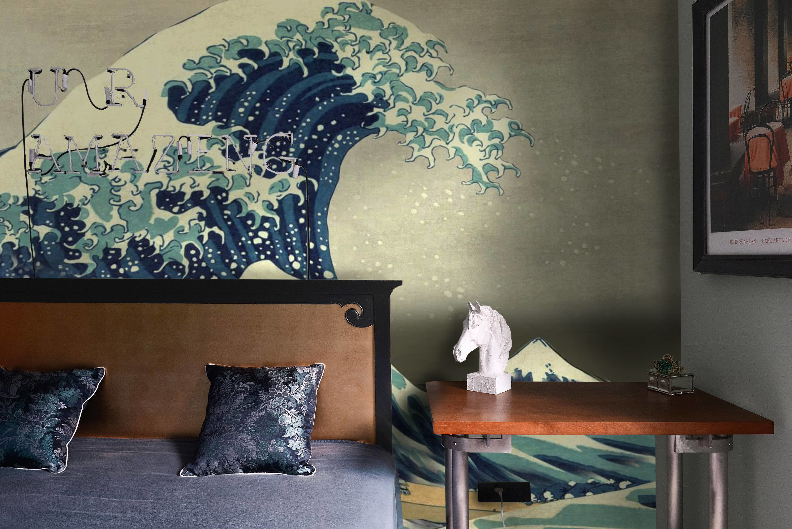 Res: 2560x1709, Great Wave off Kanagawa Wallpapers - Japanese Wallpapers - Asian Wallpaper  mural