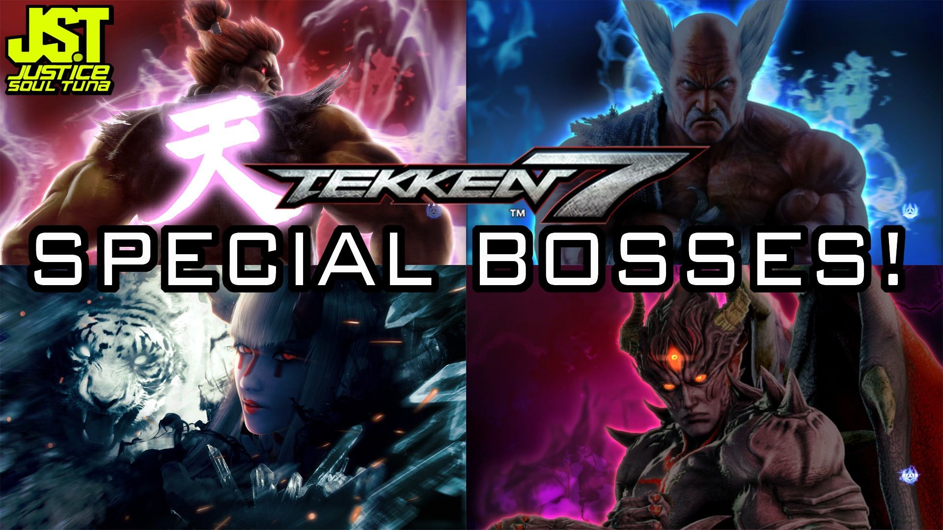 Res: 1920x1080, Tekken 7- All Treasure Battle Special Boss Matches! [Shin Akuma .