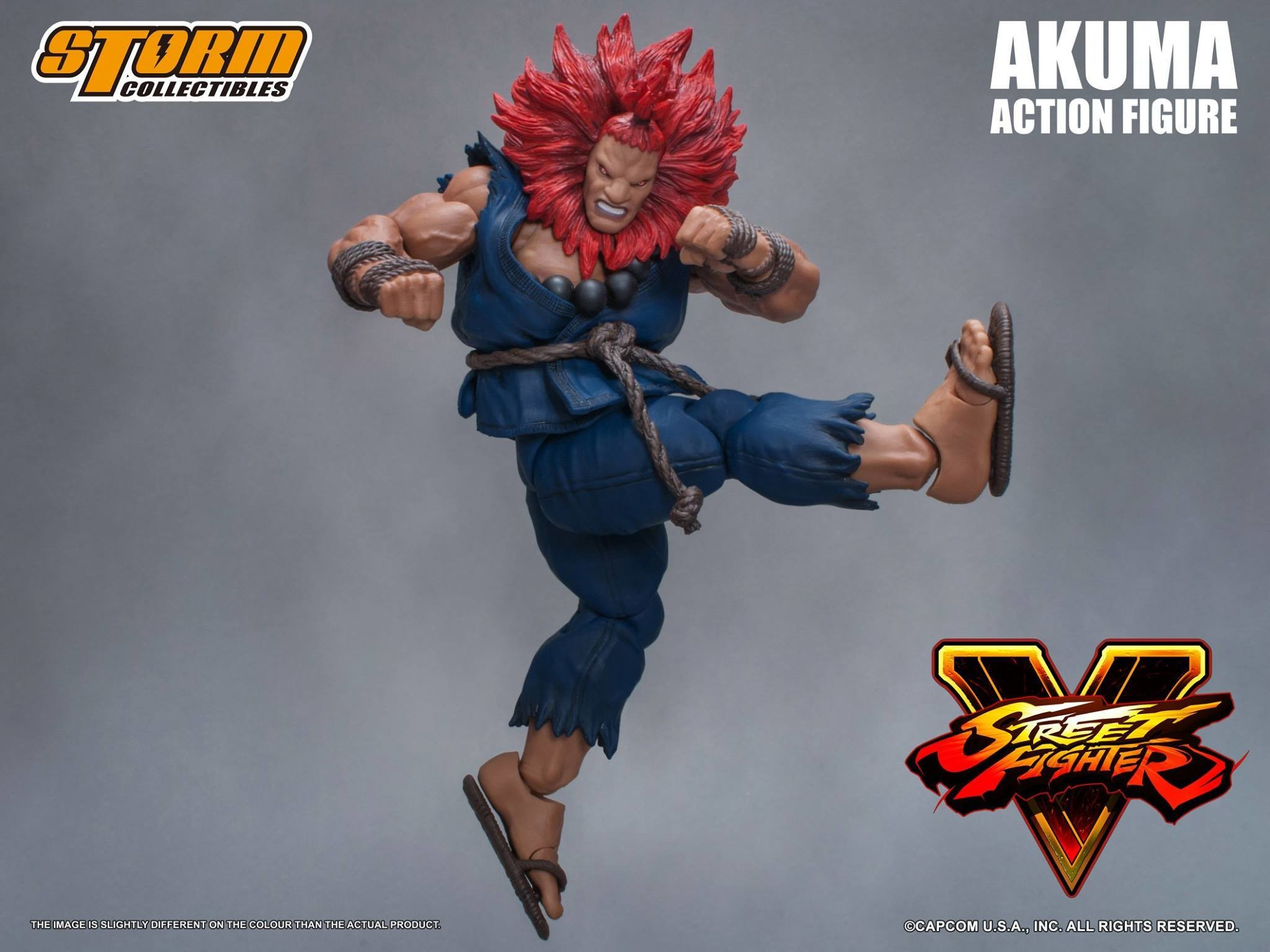 Res: 2048x1536, Storm Collectibles Street Fighter V Akuma Promo 08