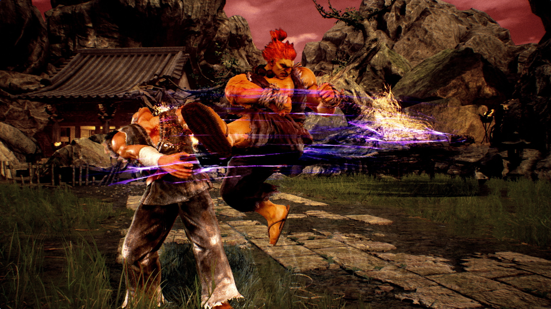 Res: 1920x1080, When fighting Akuma in Tekken 7, be sure to keep your distance at all times