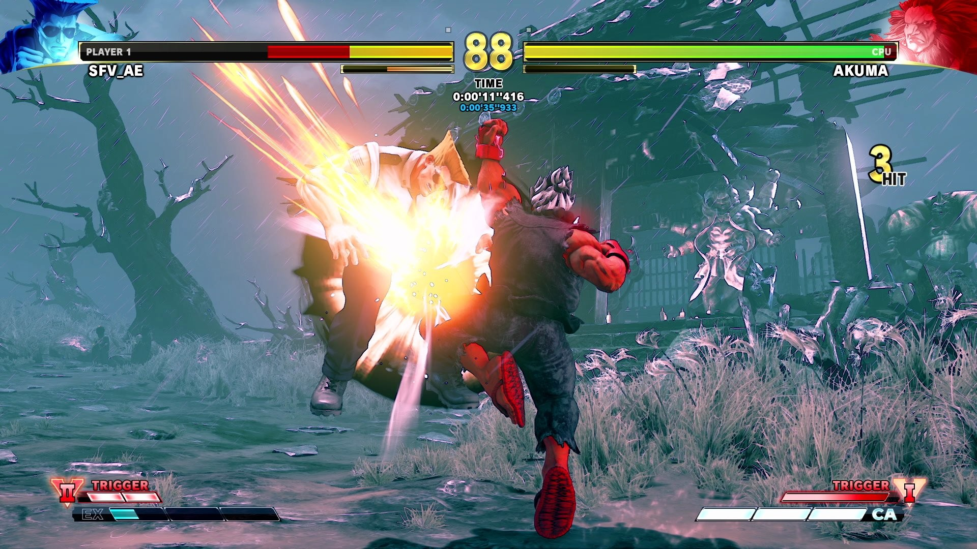 """Res: 1920x1080, Street Fighter on Twitter: """"Shin Akuma challenges any fighter brave enough  to face him in Extra Battle Mode until 1/21! Have you defeated him yet?"""