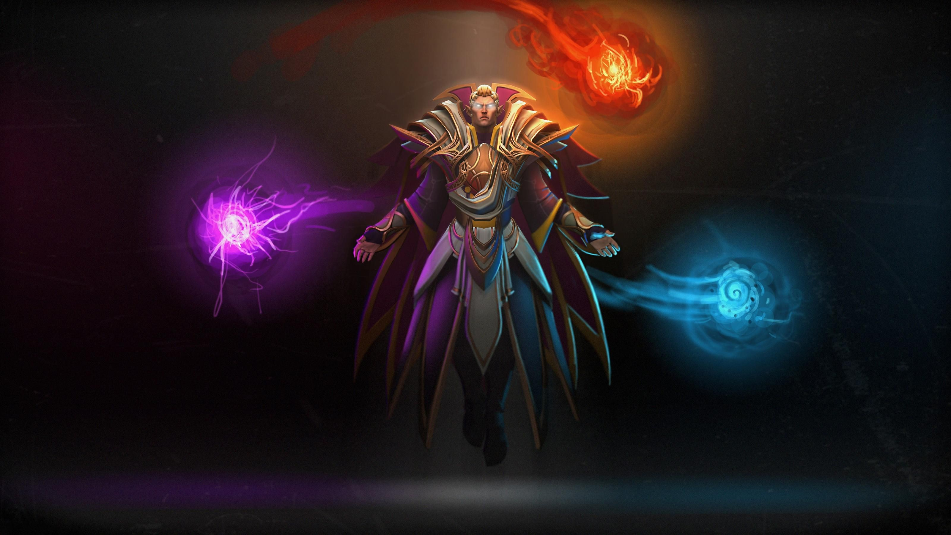 Res: 3200x1800, Dota 2 Invoker Wallpaper Background with High Definition Wallpaper   px 468.92 KB