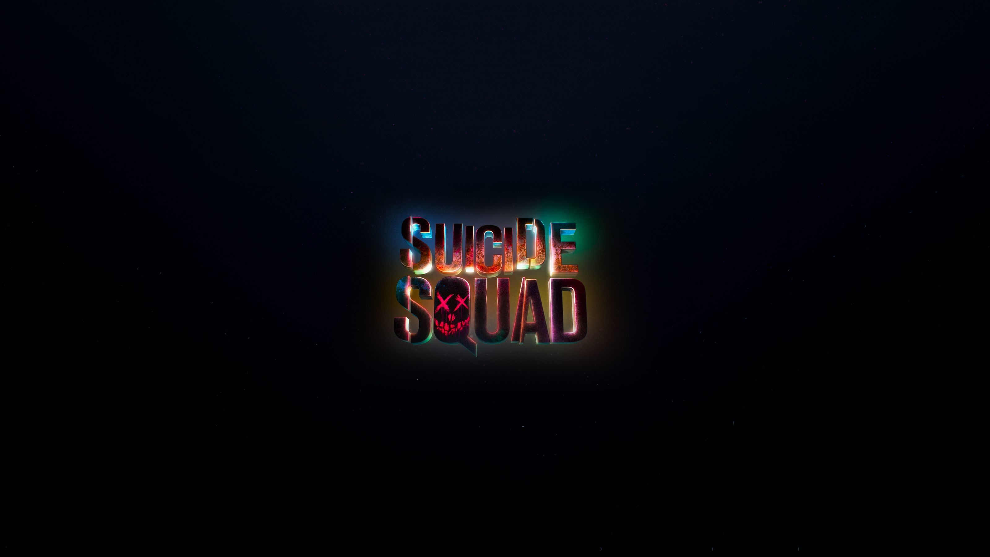 Res: 3200x1800, Best wallpaper gallery with Suicide Squad Logo Background [QHD+ (Upscaled)  and HD wallpapers. We collected full High Quality pictures and wallpapers  for ...
