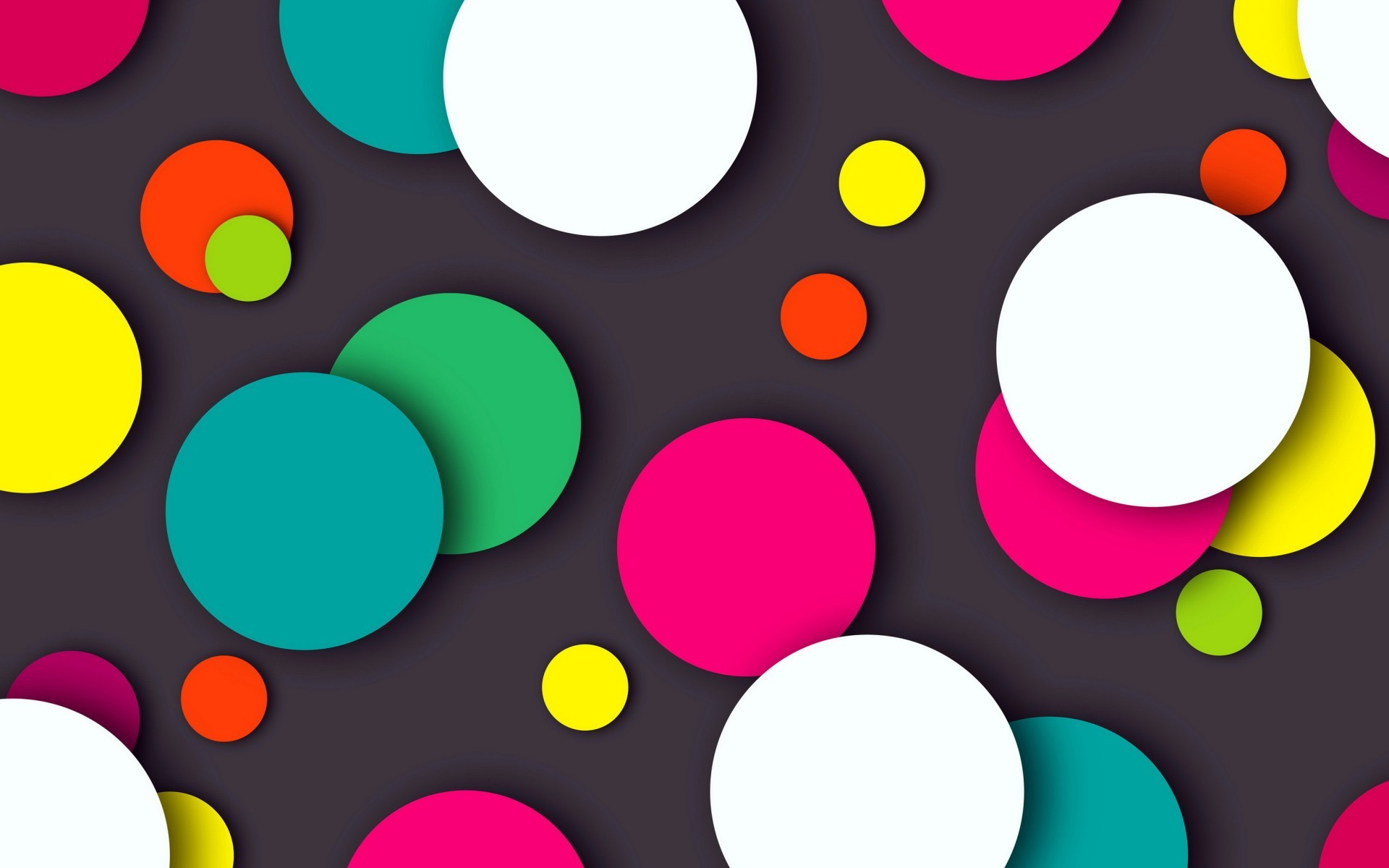 Res: 1920x1200, Abstract / Colorful Dots Wallpaper