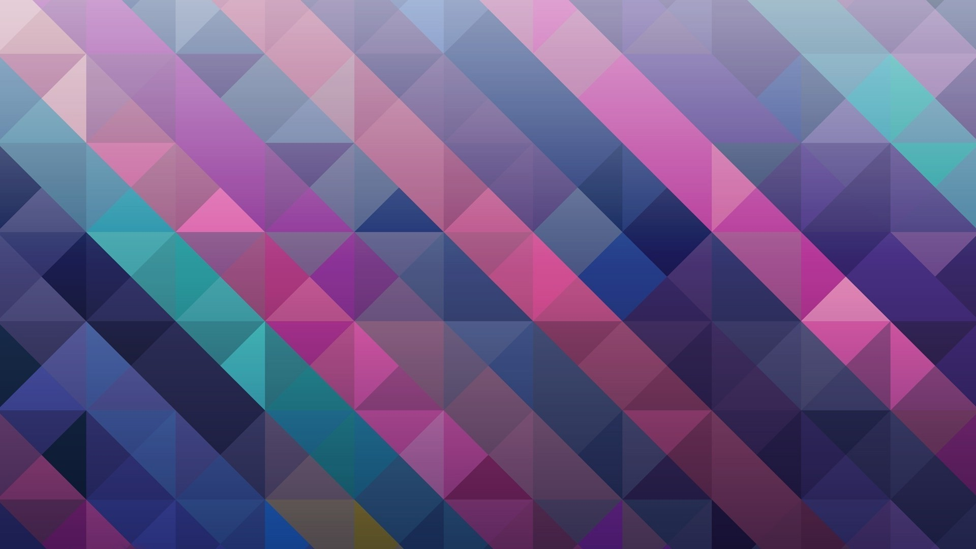 Res: 1920x1080, Mosaic Pattern Colorful Background Wallpaper
