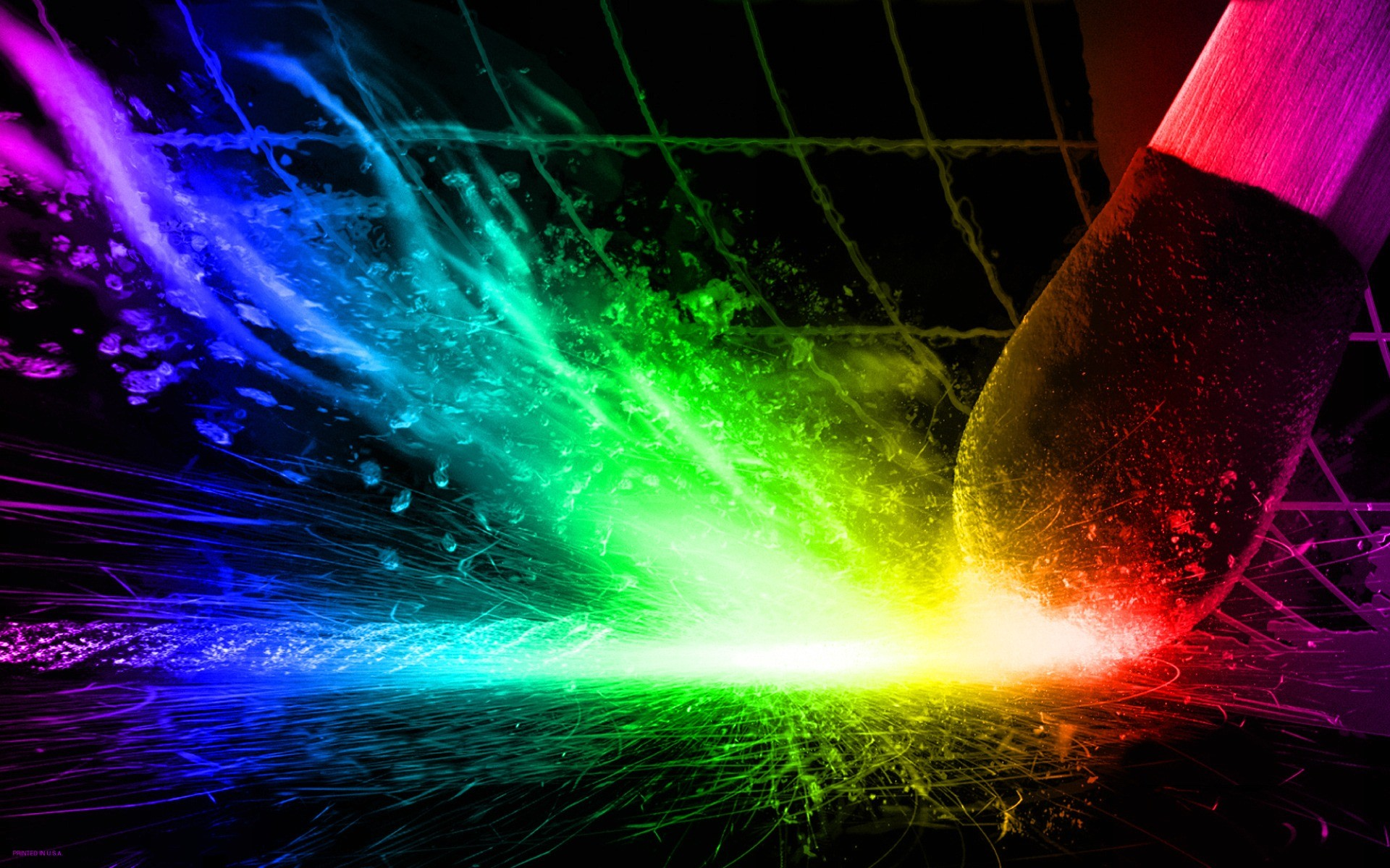 Res: 1920x1200, HD Wallpapers Bright color background wallpaper