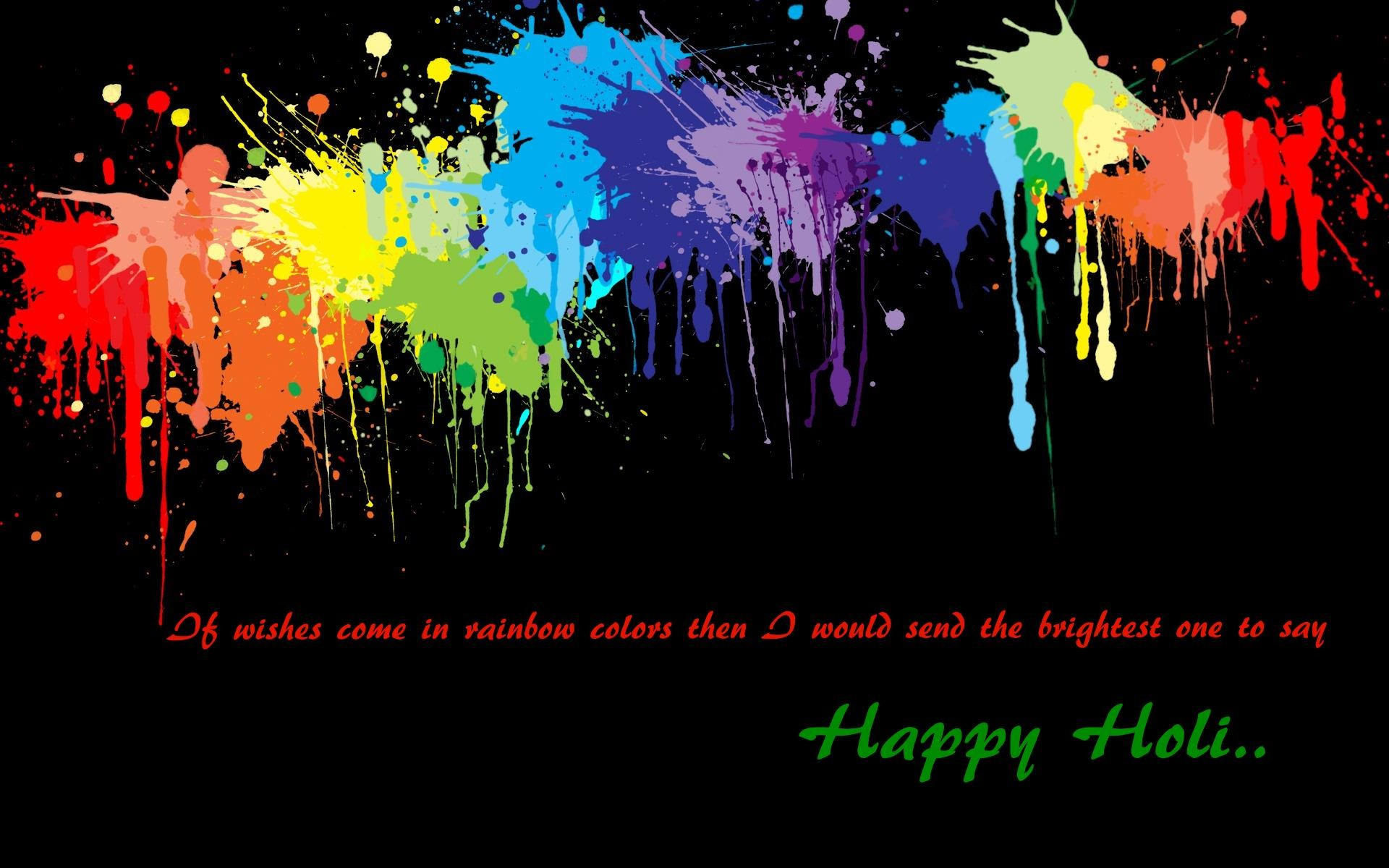 Res: 1920x1200, Holi Wishes Background Wallpapers
