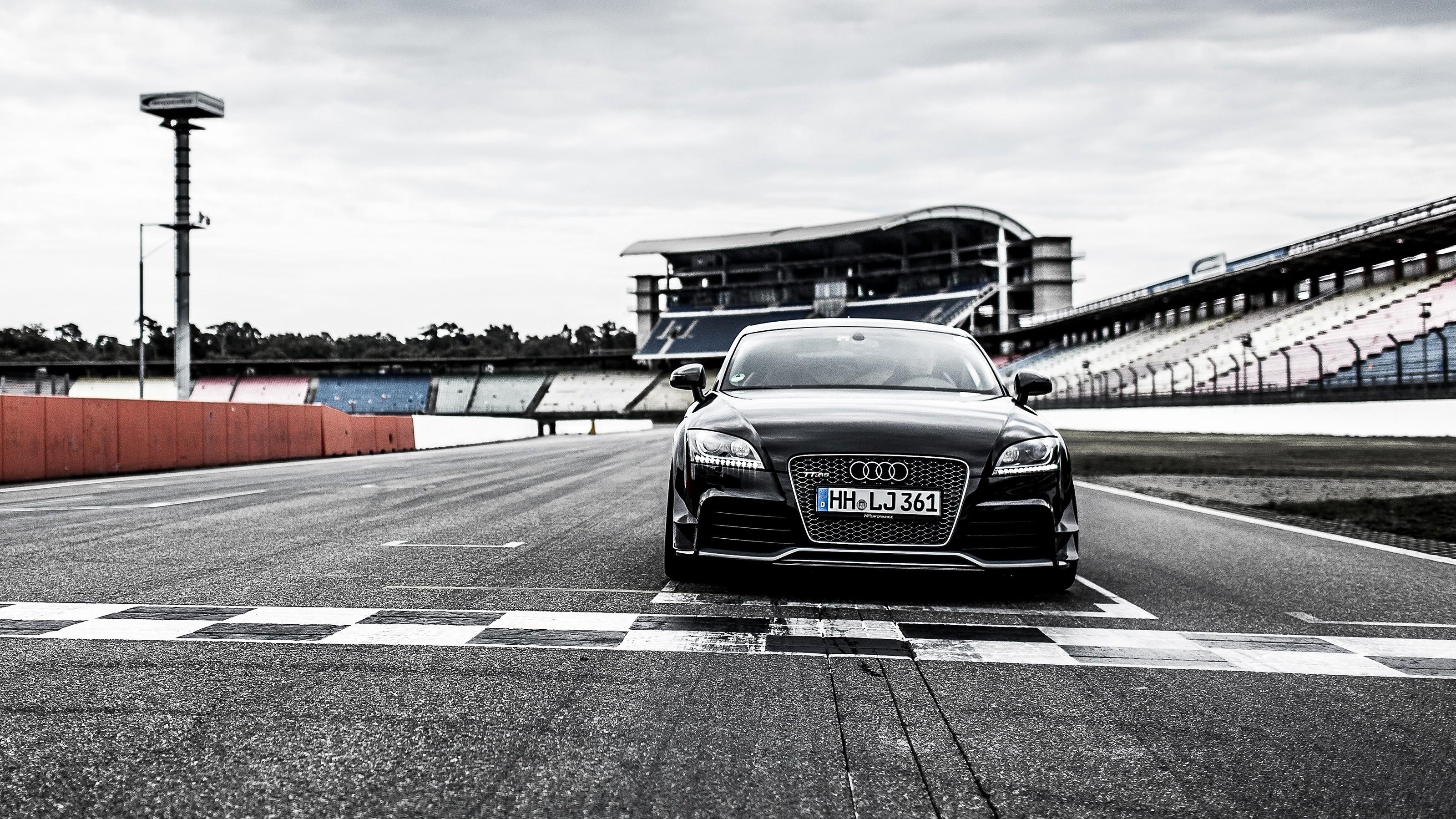 Res: 3200x1800, Vehicles - Audi TT Audi Black Car Sport Car Car Vehicle Wallpaper
