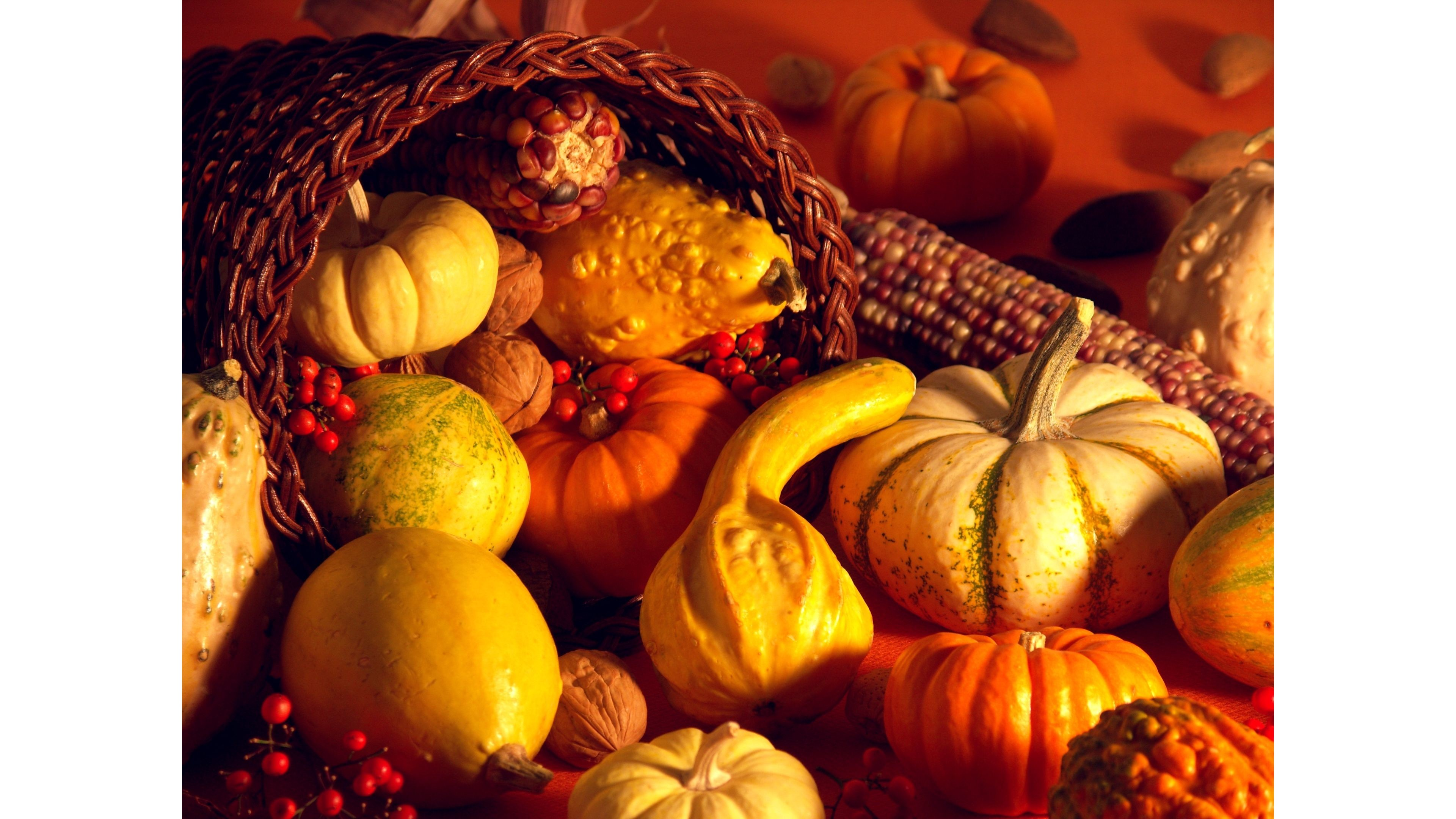 Res: 3840x2160, 2016 Thanksgiving 4K Wallpapers