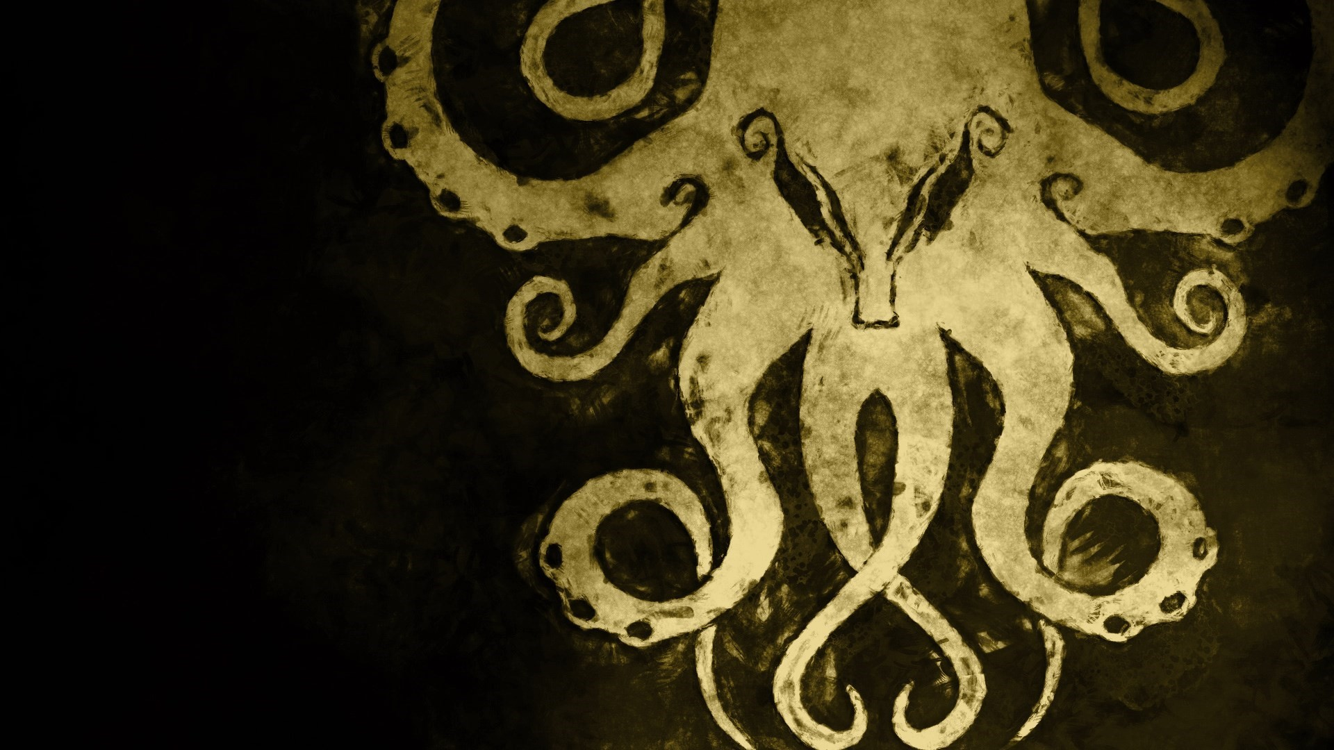Res: 1920x1080, Cthulhu Wallpaper