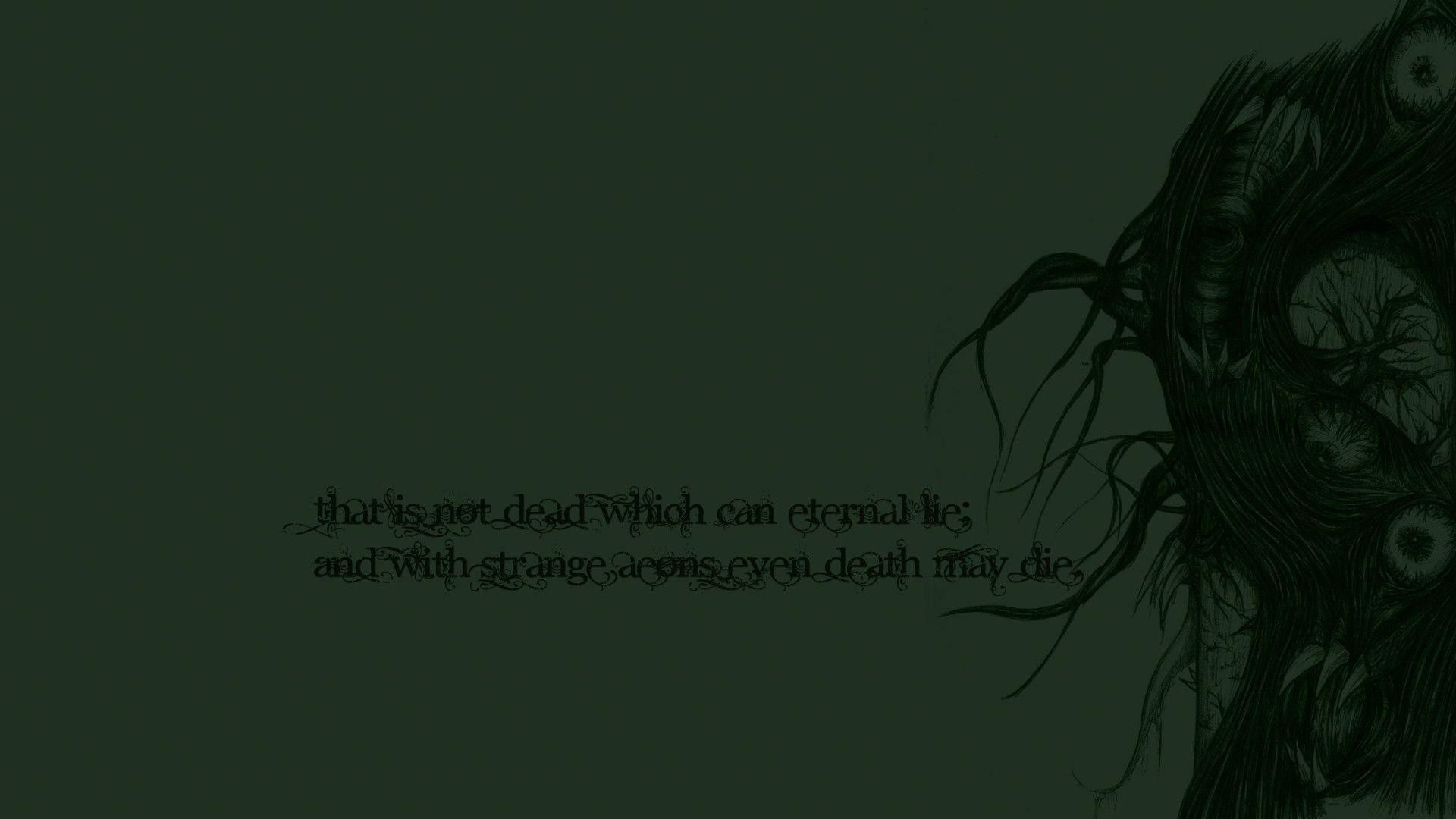 Res: 1920x1080, Lovecraft Wallpaper | Download Wallpapers