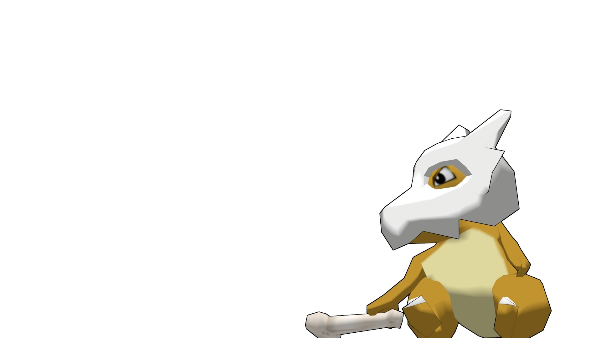 Res: 1920x1080, Free Awesome Cubone Wallpaper
