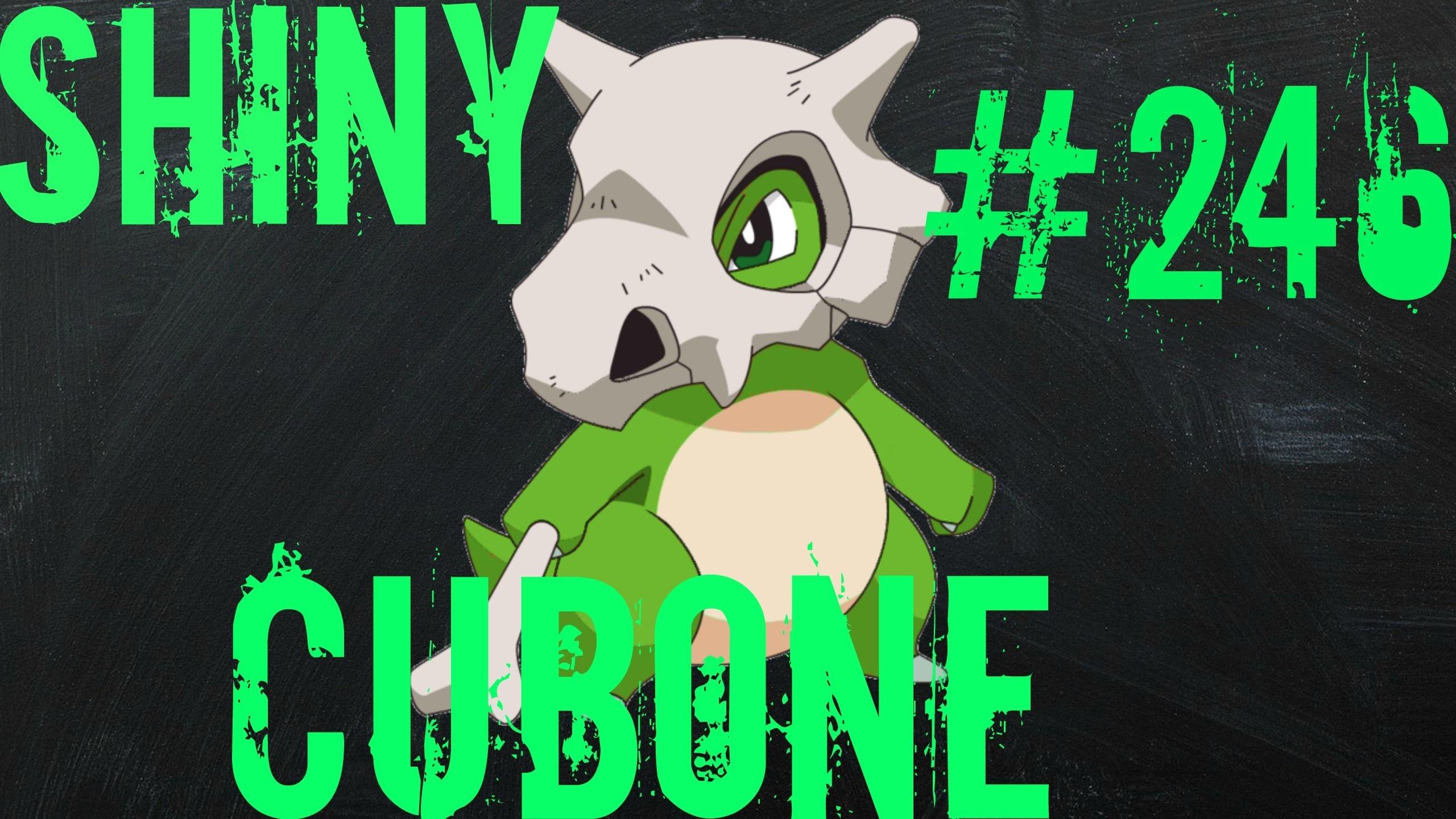 Res: 2560x1440, (LIVE) Pokemon Omega Ruby/Alpha Sapphire ORAS - Shiny Cubone #246 - 206  Eggs Hatched