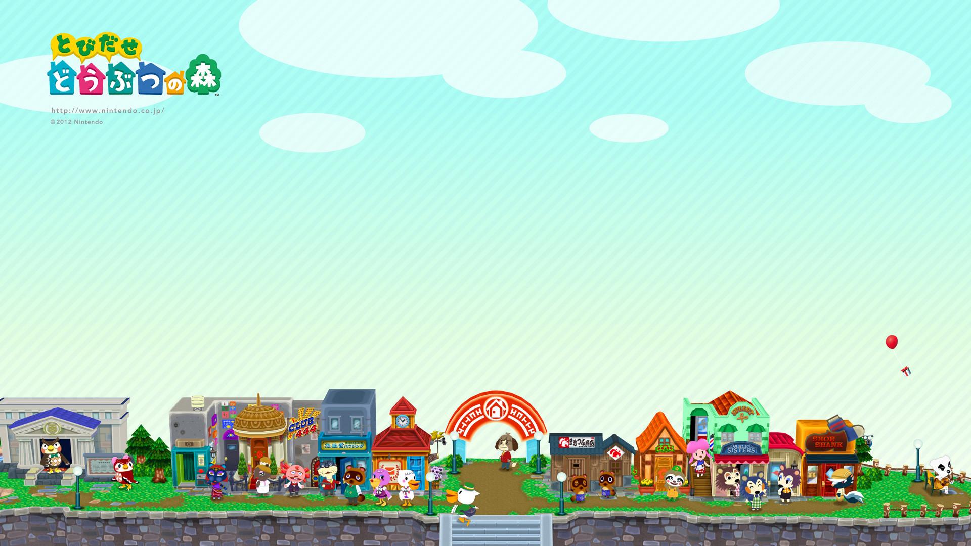 Res: 1920x1080, Animal Crossing HD Wallpaper