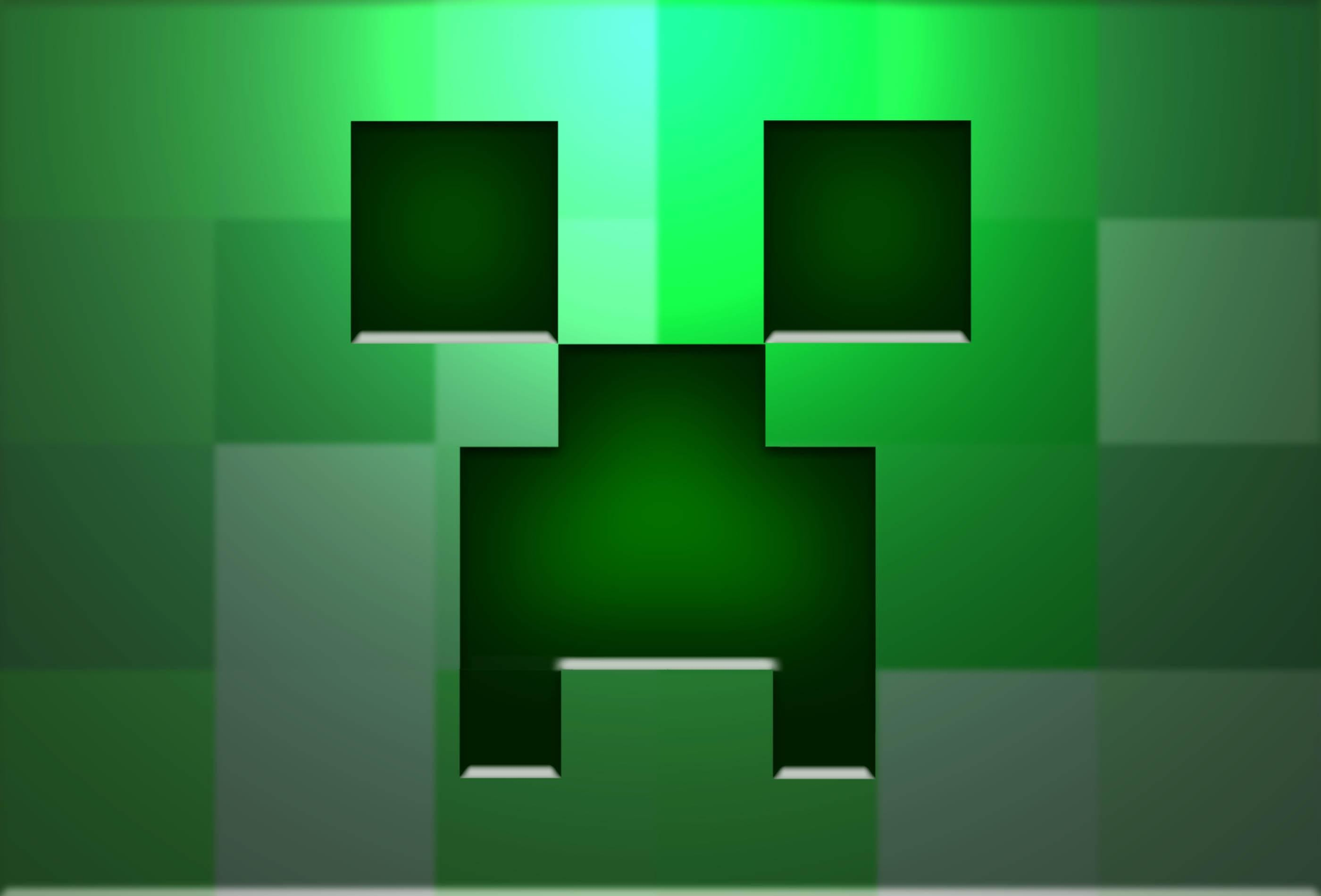 Res: 2800x1900, Minecraft Creeper Backgrounds - Wallpaper Cave
