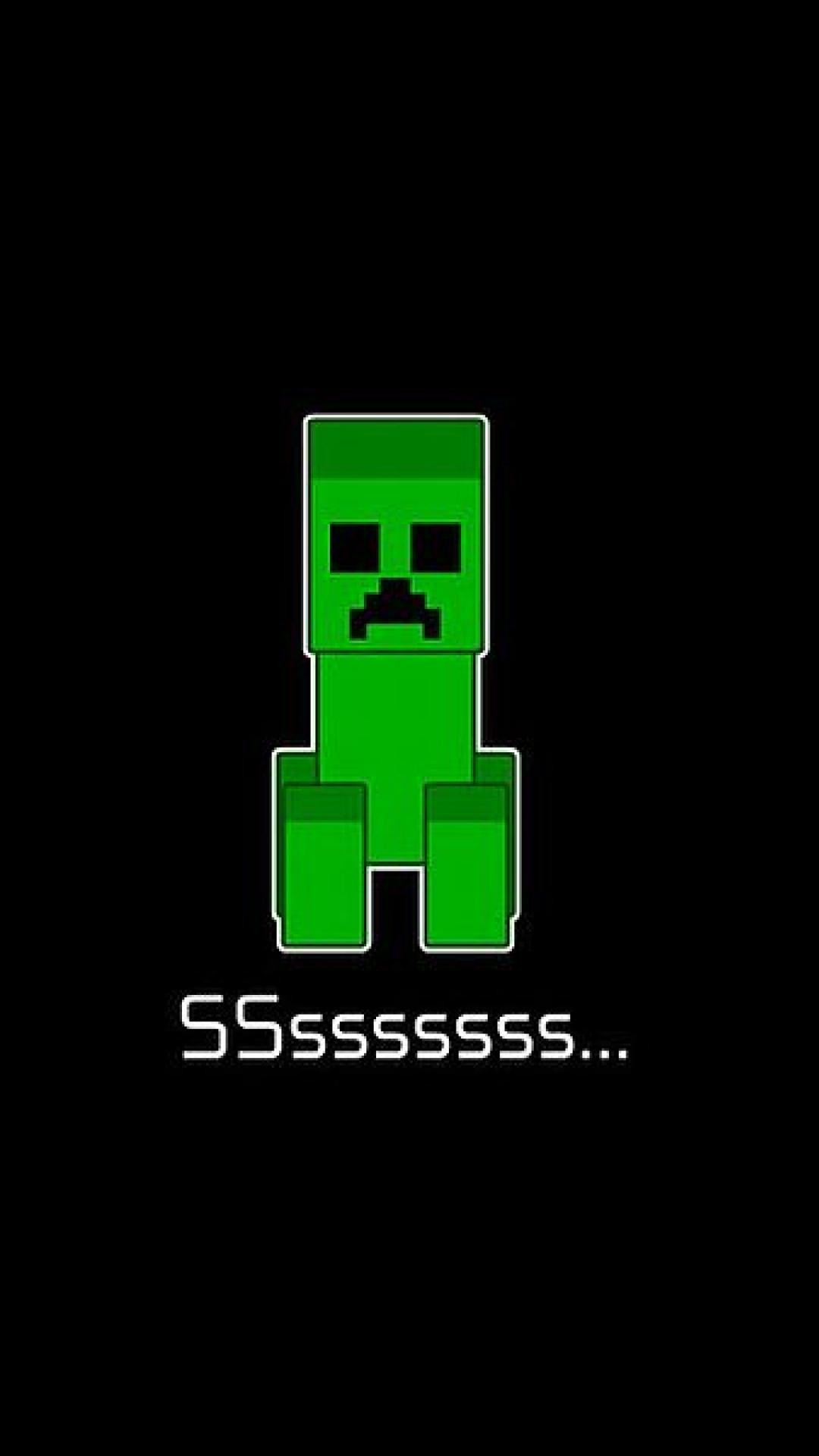 Res: 1080x1920, minecraft creeper mobile phone wallpaper hd