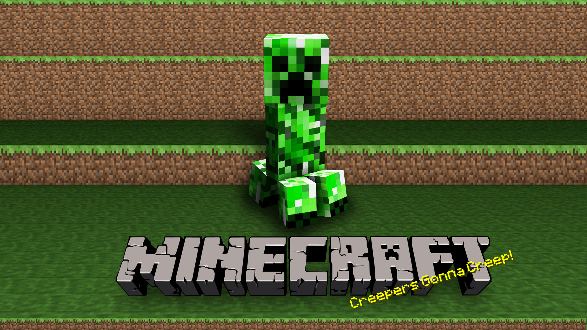Res: 1920x1080, Minecraft Creeper Wallpapers Free