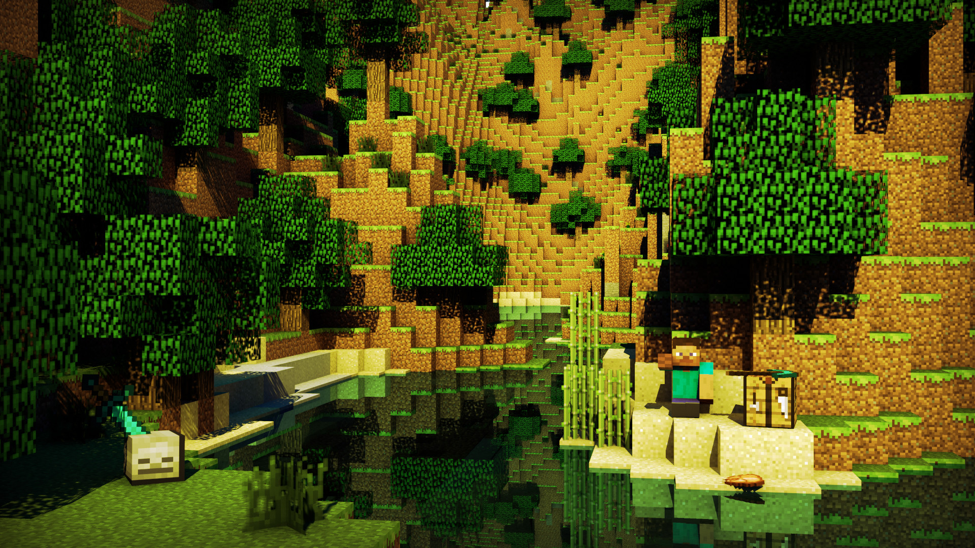 Res: 1920x1080, Minecraft Creeper Exclusive HD Wallpapers #3750