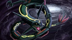 Shiny Rayquaza wallpapers
